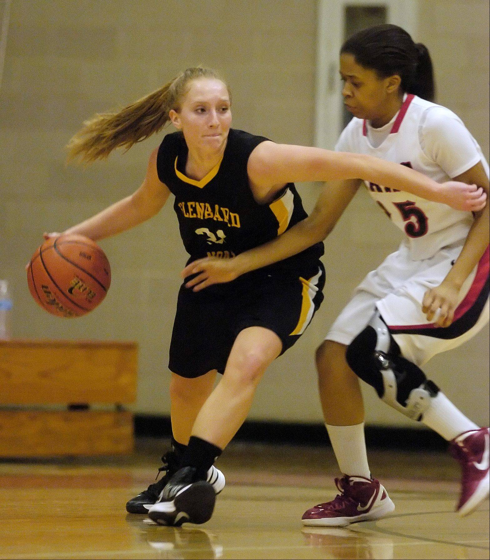 Images: Glenbard East vs. Glenbard North, girls basketball