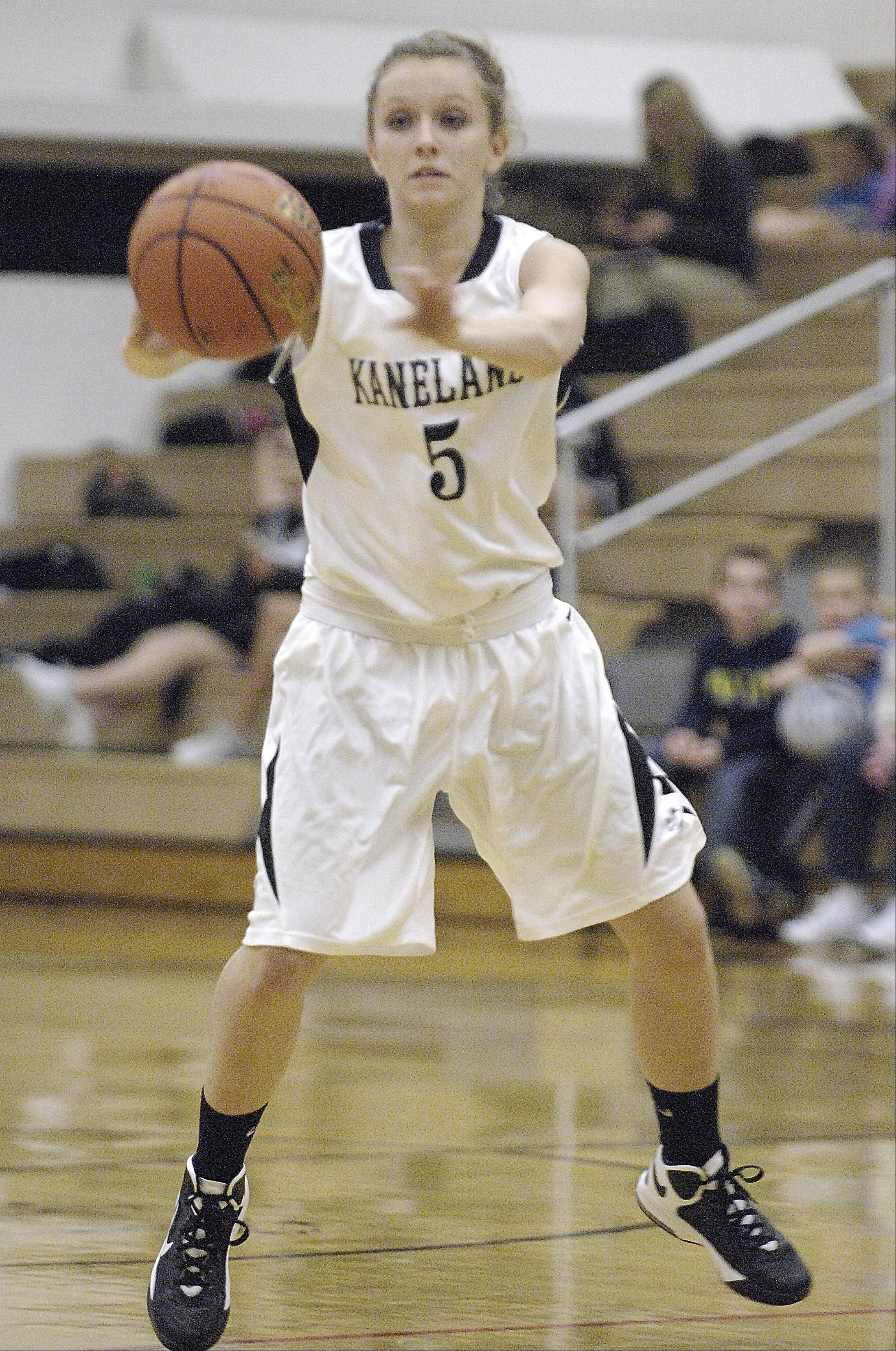 Images from the Sycamore vs. Kaneland girls basketball game Thursday, December 6, 2012.