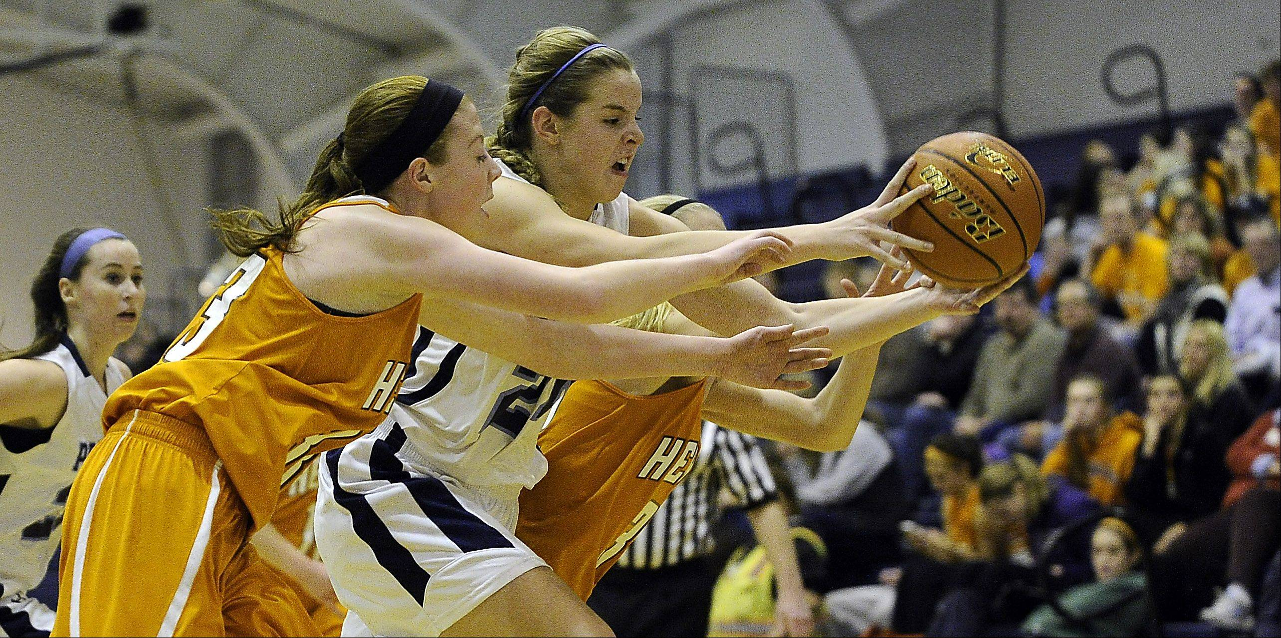 Images: Prospect vs. Hersey, girls basketball