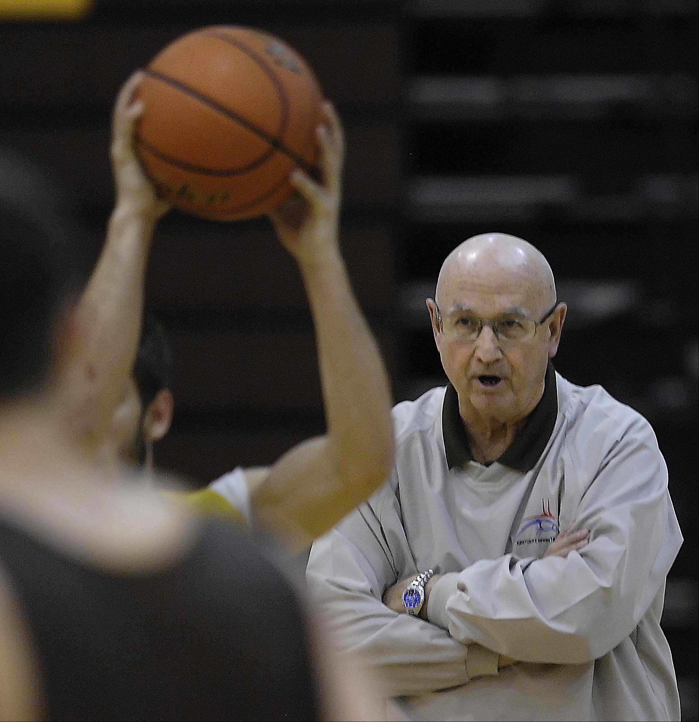Coach Jim Hinkle will retire at the end of the boys basketball season at the age of 70.