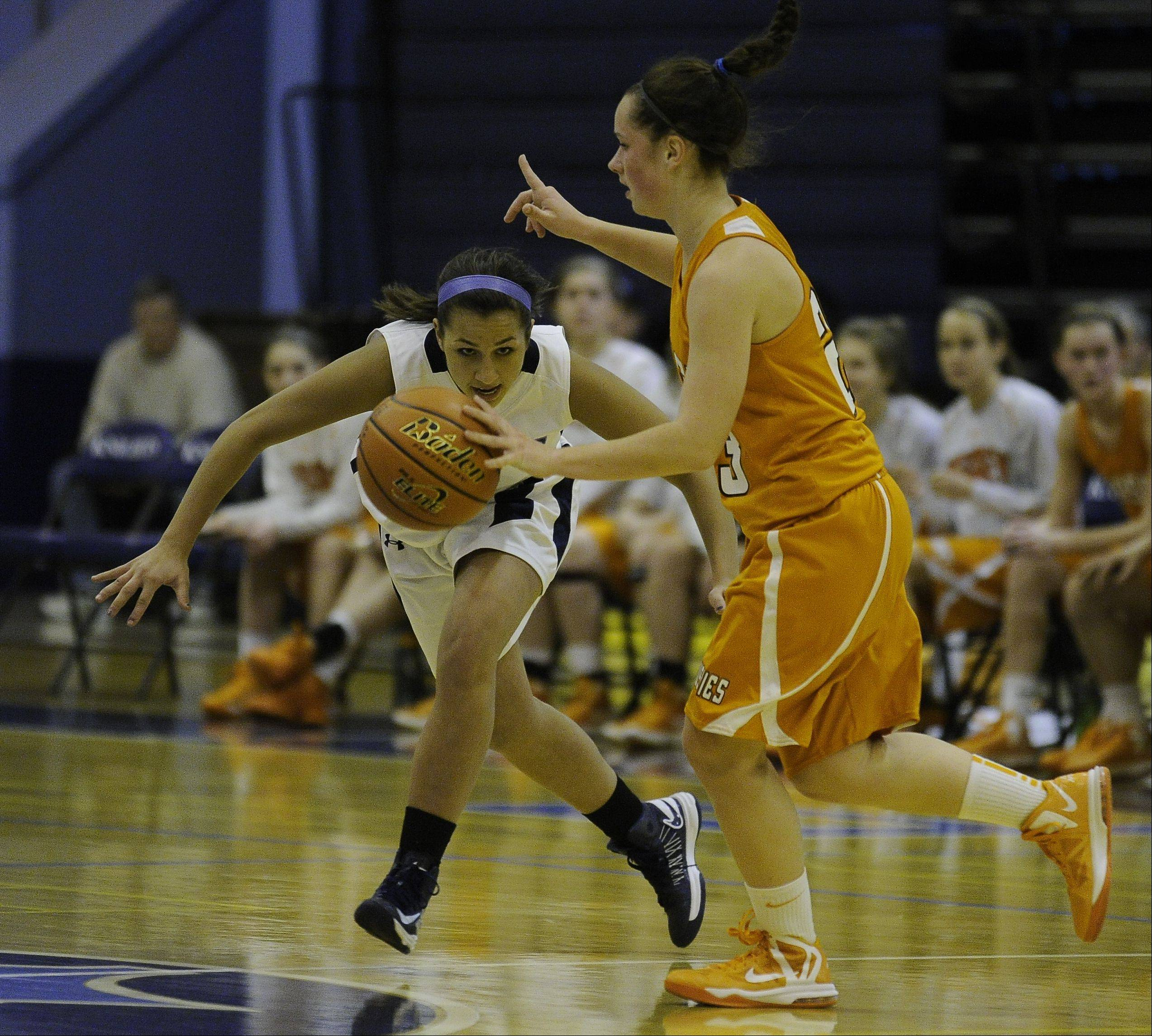 Images from the Hersey vs. Prospect girls basketball game on Friday, December 7th, in Mount Prospect.