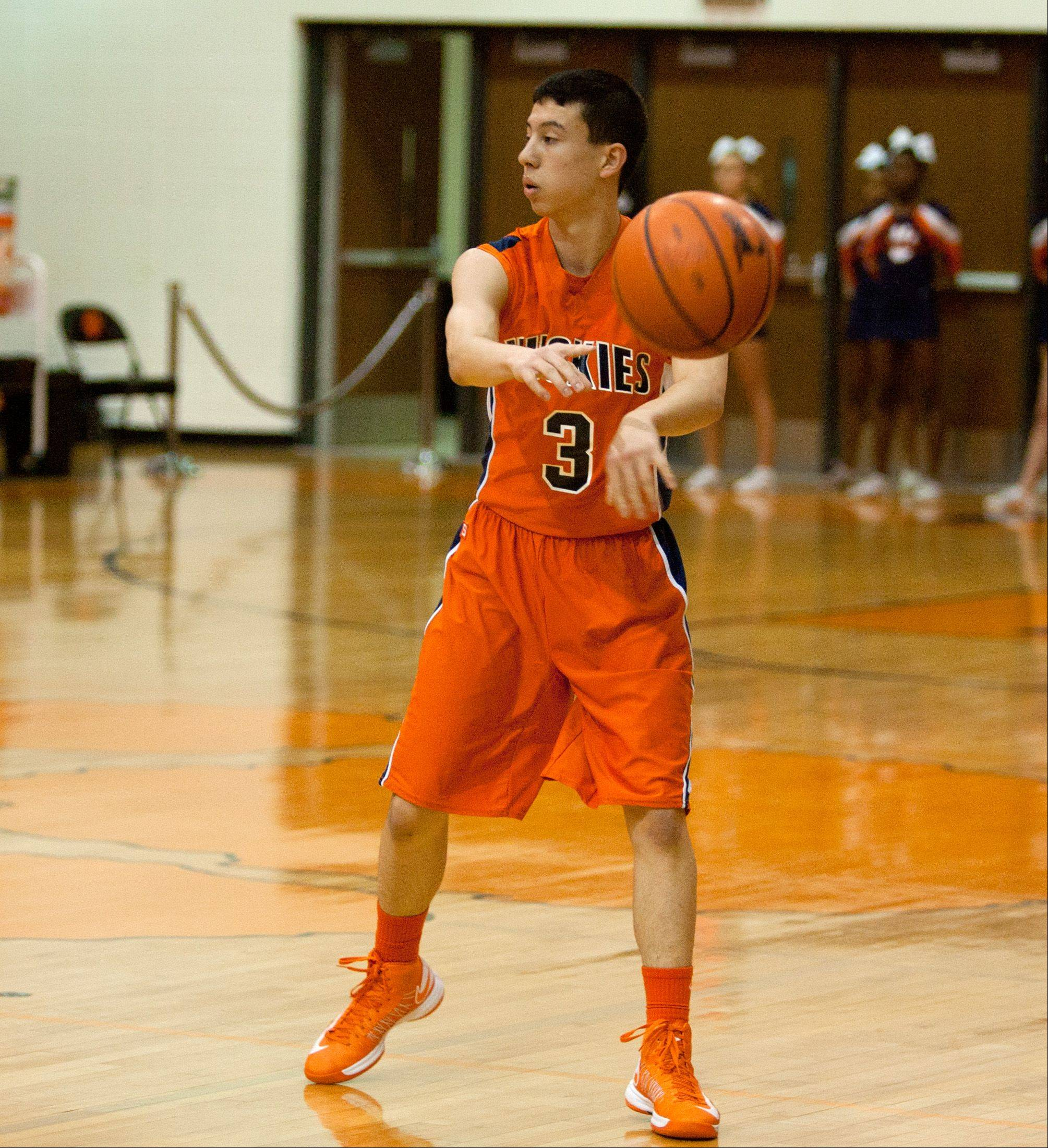 Wheaton Warrenville South hosted Naperville North Friday night for boys basketball.