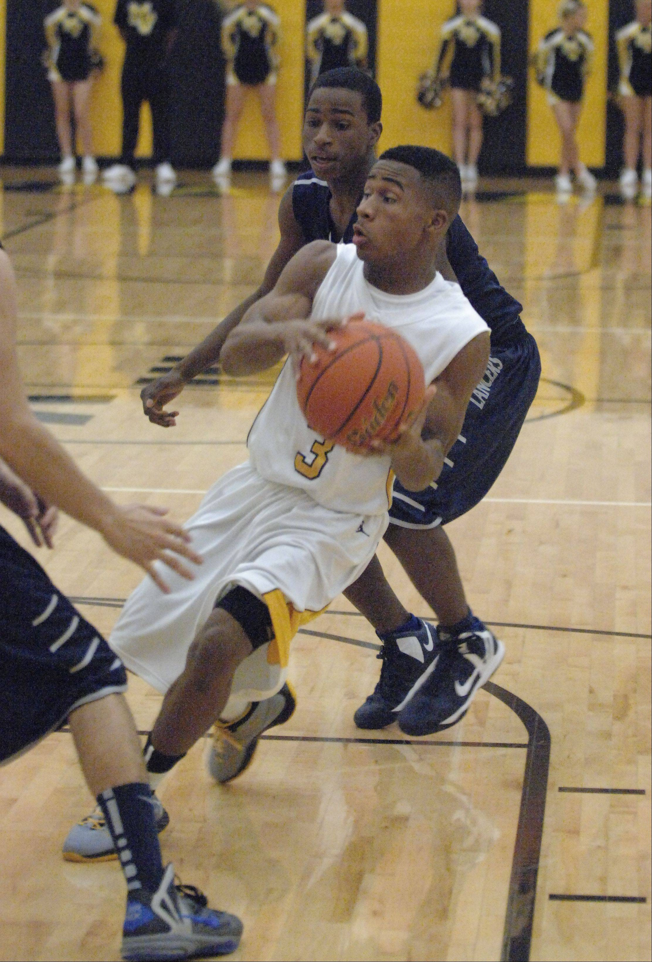 Metea Valley High School hosted Lake Park High School Friday night for boys basketball.