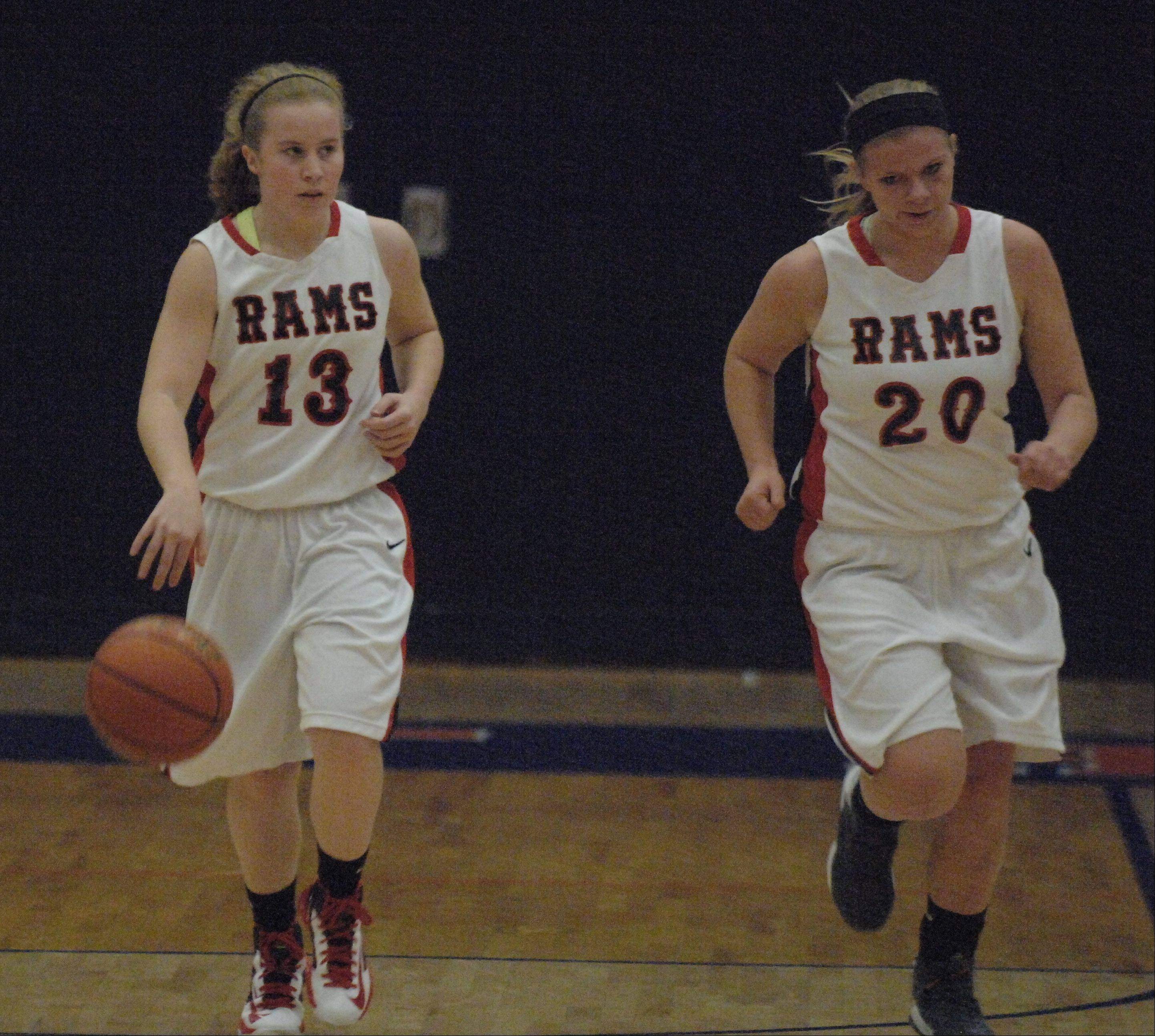 Images from the Batavia vs. Glenbard East girls basketball game Saturday, December 8, 2012.