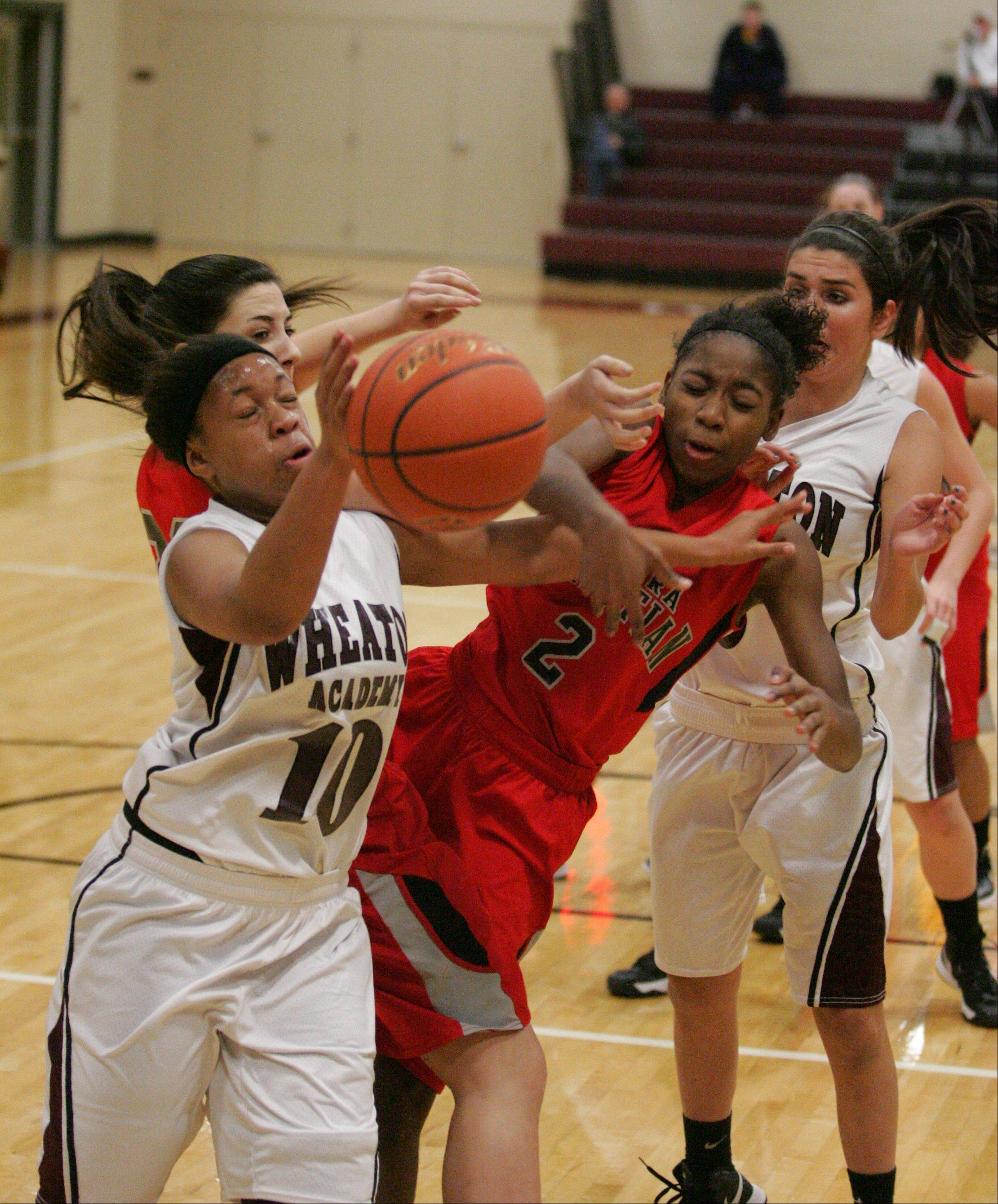 Images: Aurora Christian vs. Wheaton Academy, girls basketball