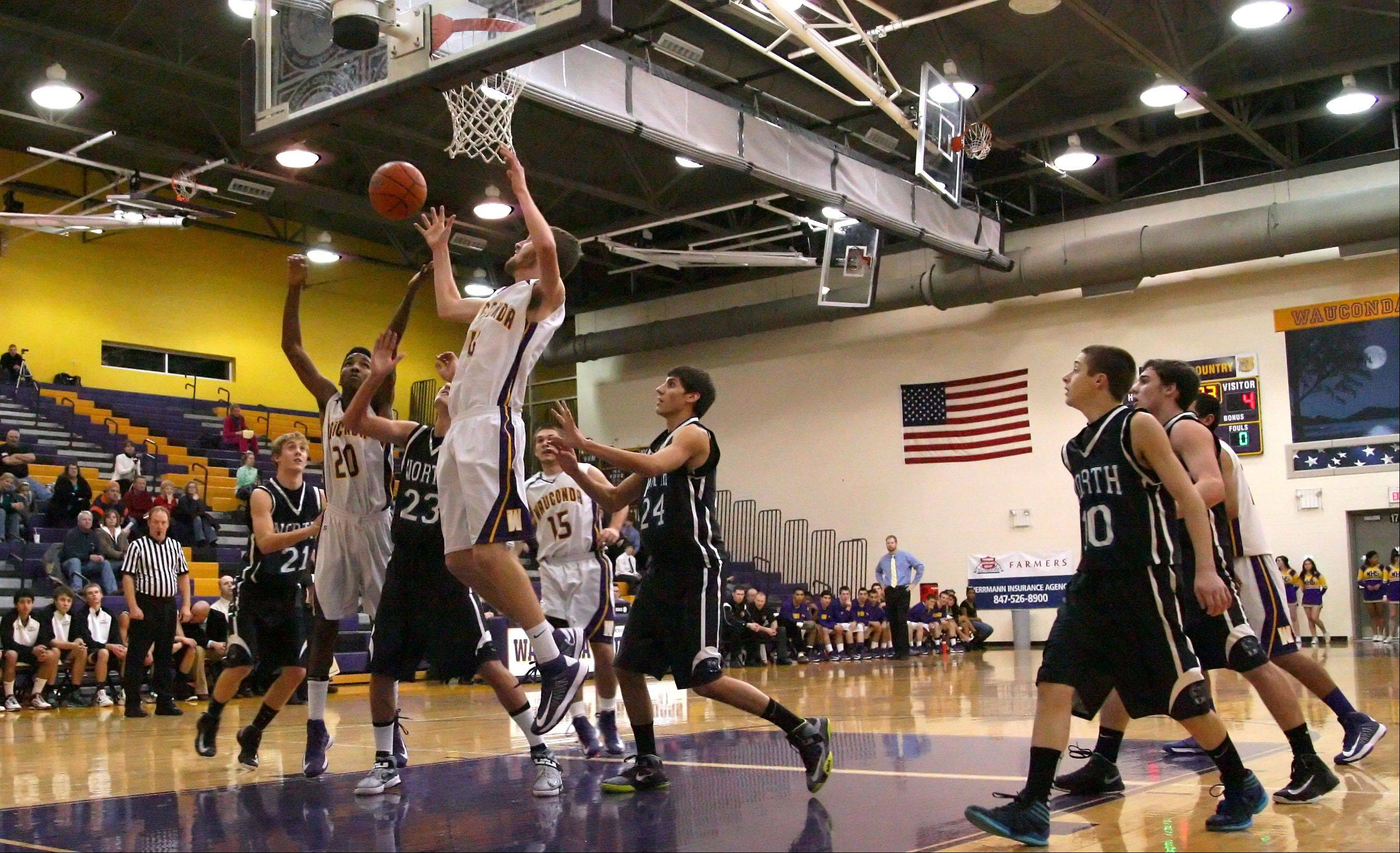 Images: Woodstock North vs. Wauconda, boys basketball