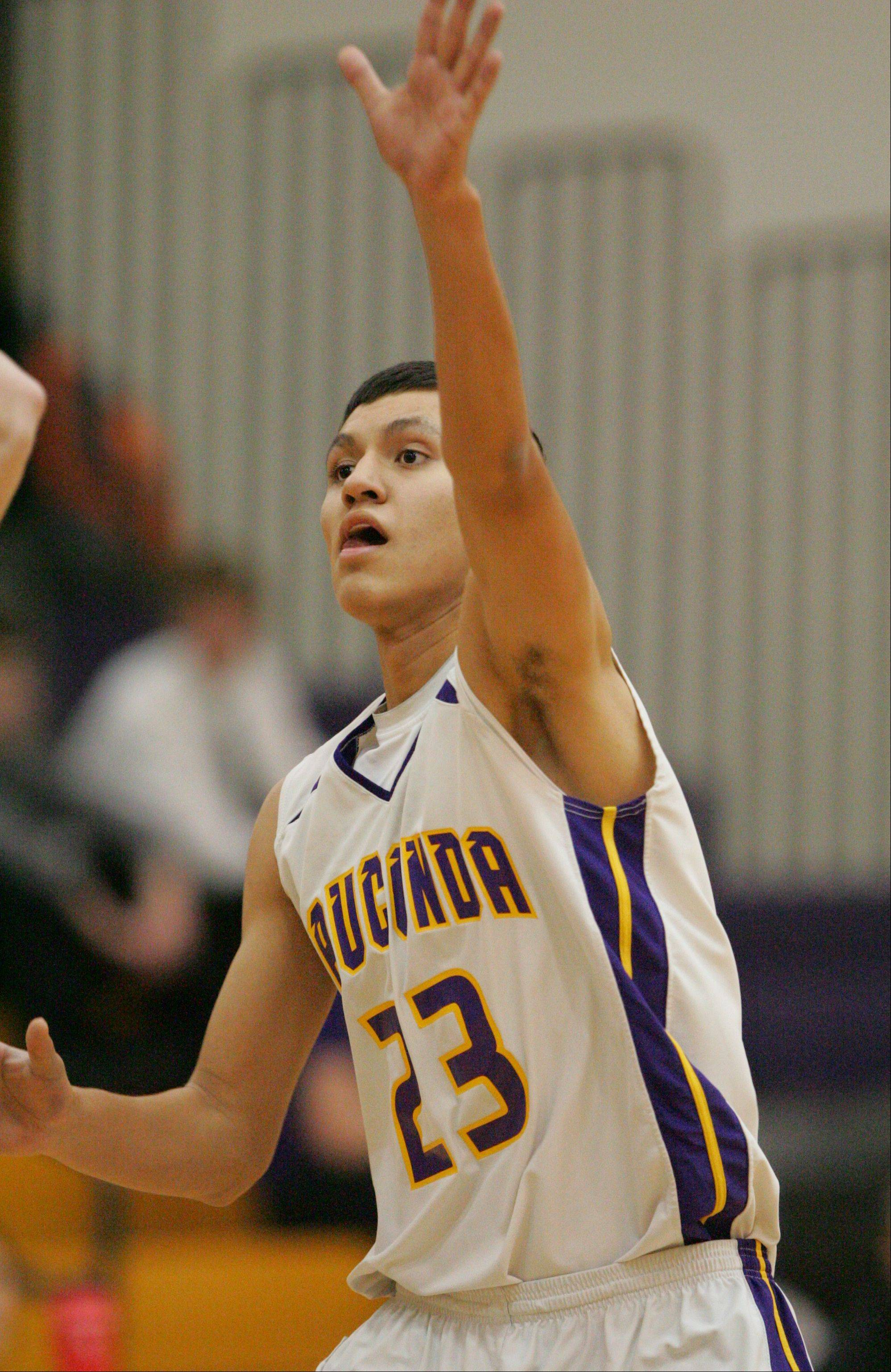 Images from the Woodstock North at Wauconda boys basketball game Monday, Dec. 10 in Wauconda.