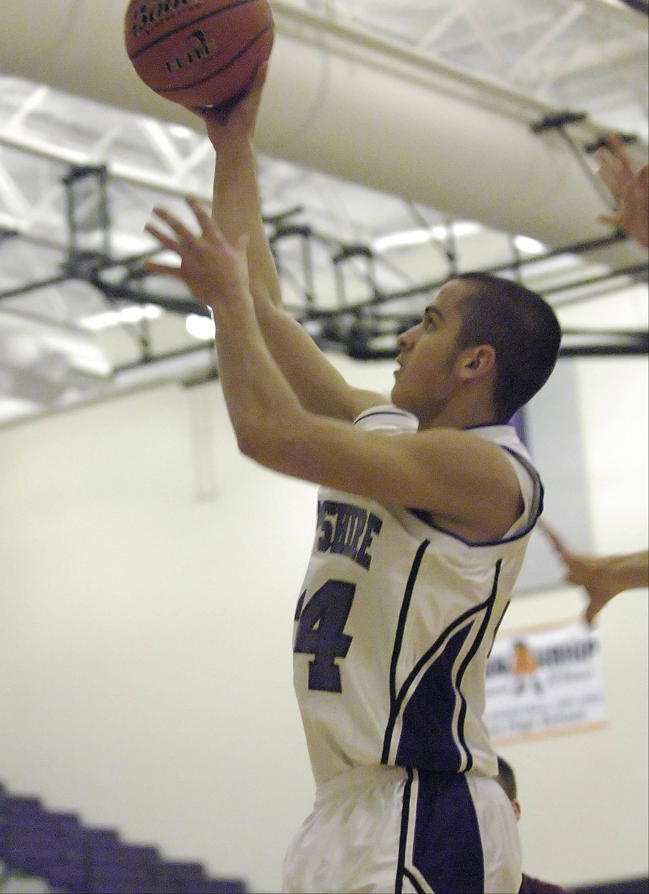Images from the Marengo vs. Hampshire boys basketball game Tuesday, December 11, 2012.