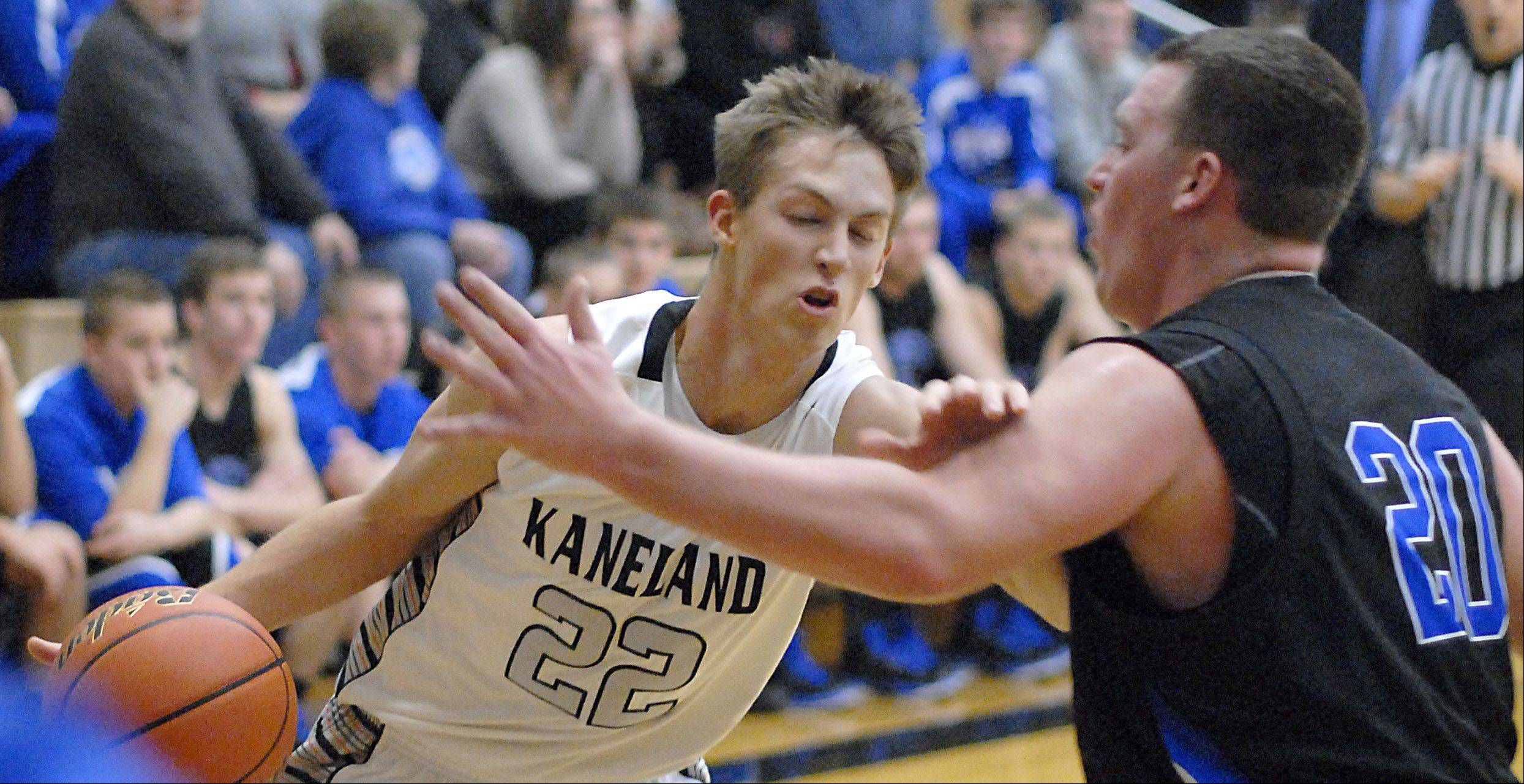 Images from the Hinckley-Big Rock vs. Kaneland basketball game Tuesday, December 11, 2012.