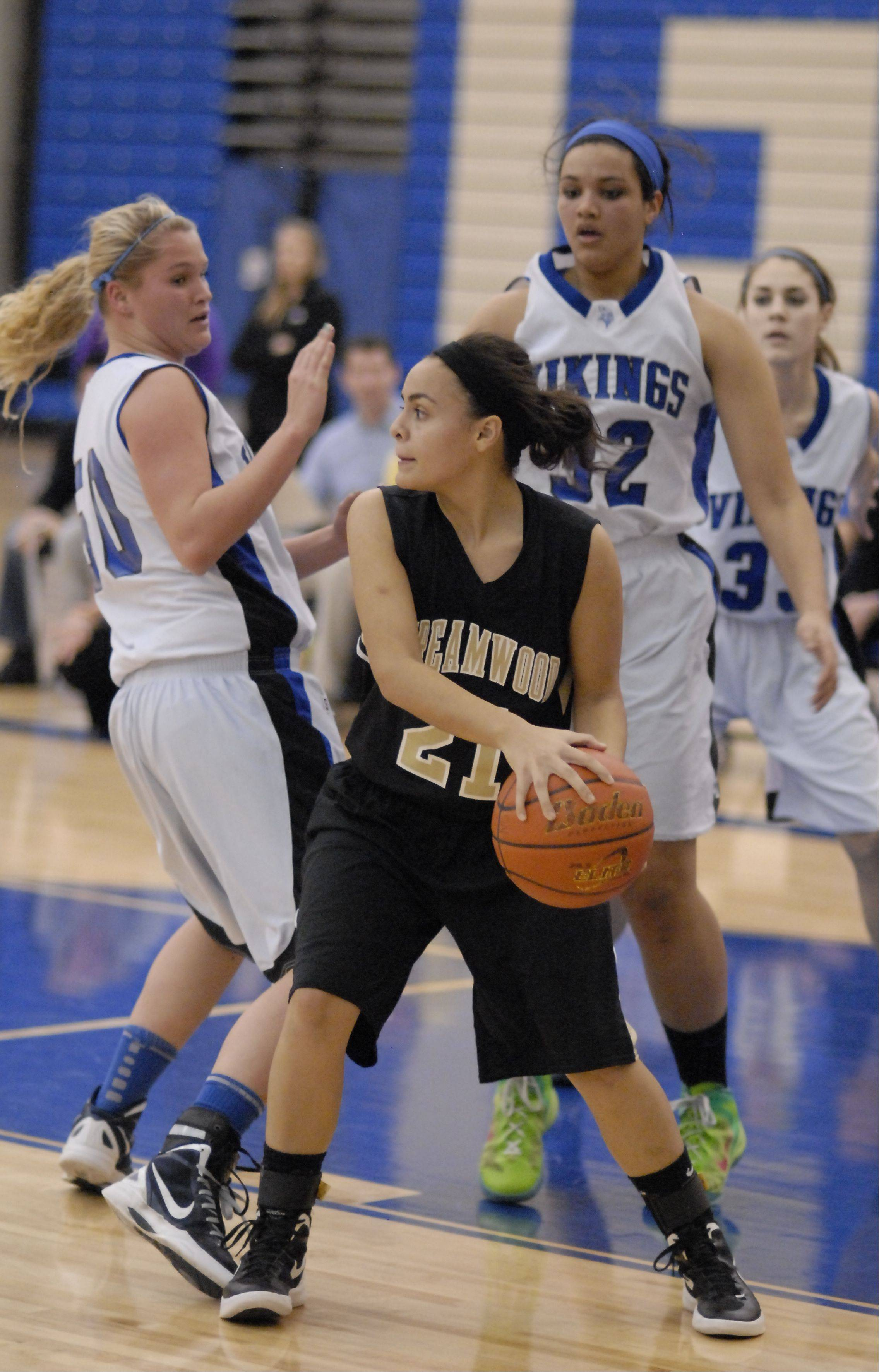 Images: Streamwood vs. Geneva, girls basketball