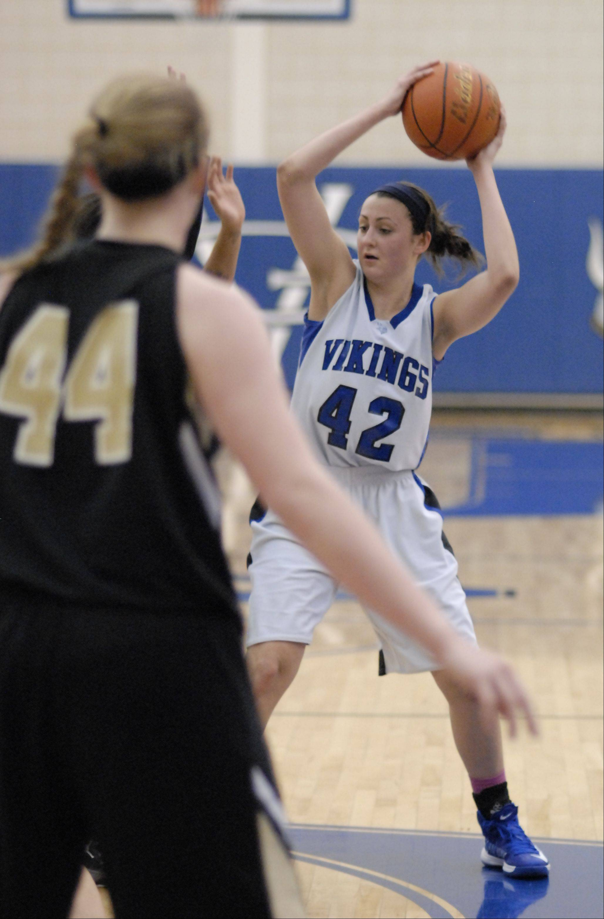 Images from the Streamwood vs. Geneva girls basketball game Wednesday, December 12, 2012.