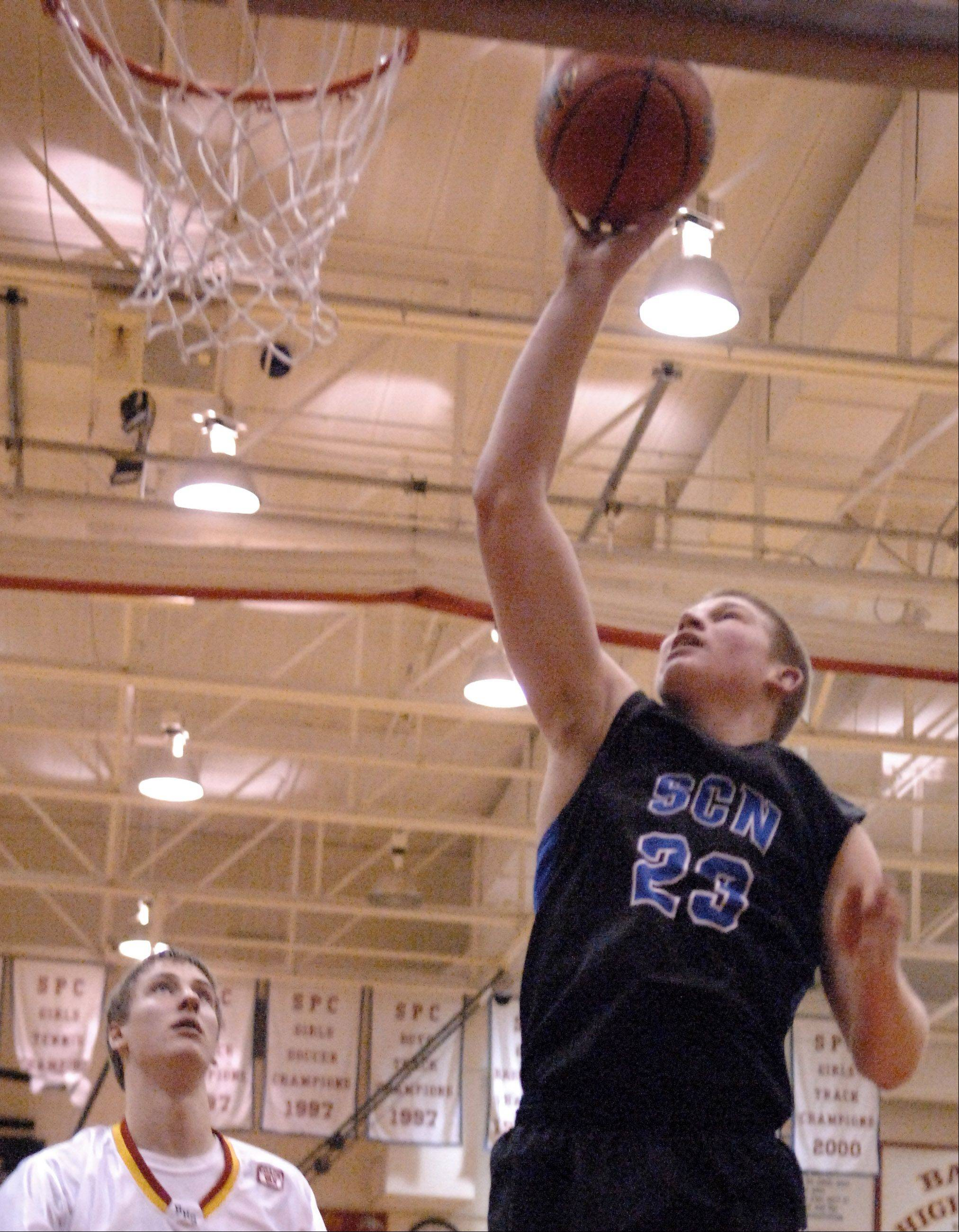 Images from the St. Charles North vs. Batavia boys basketball game Thursday, December 13, 2012.