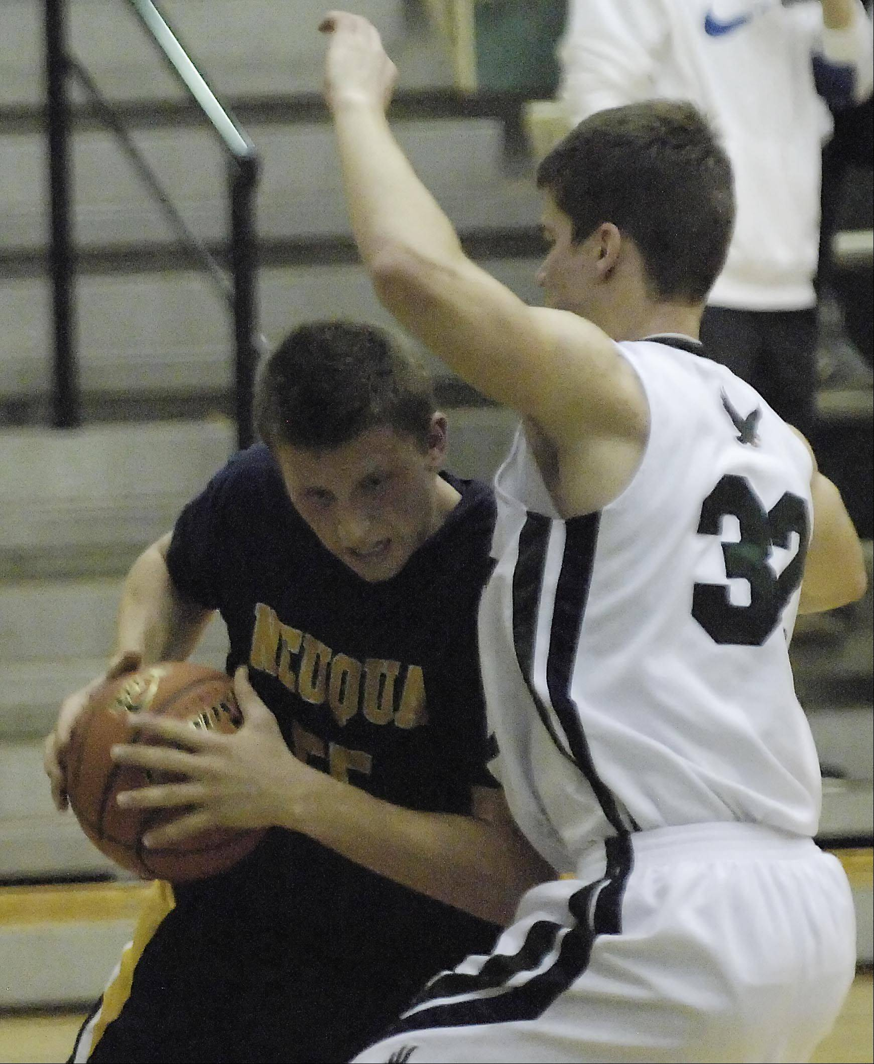 Images from the Neuqua Valley vs. Bartlett boys basketball game Thursday, December 13, 2012.