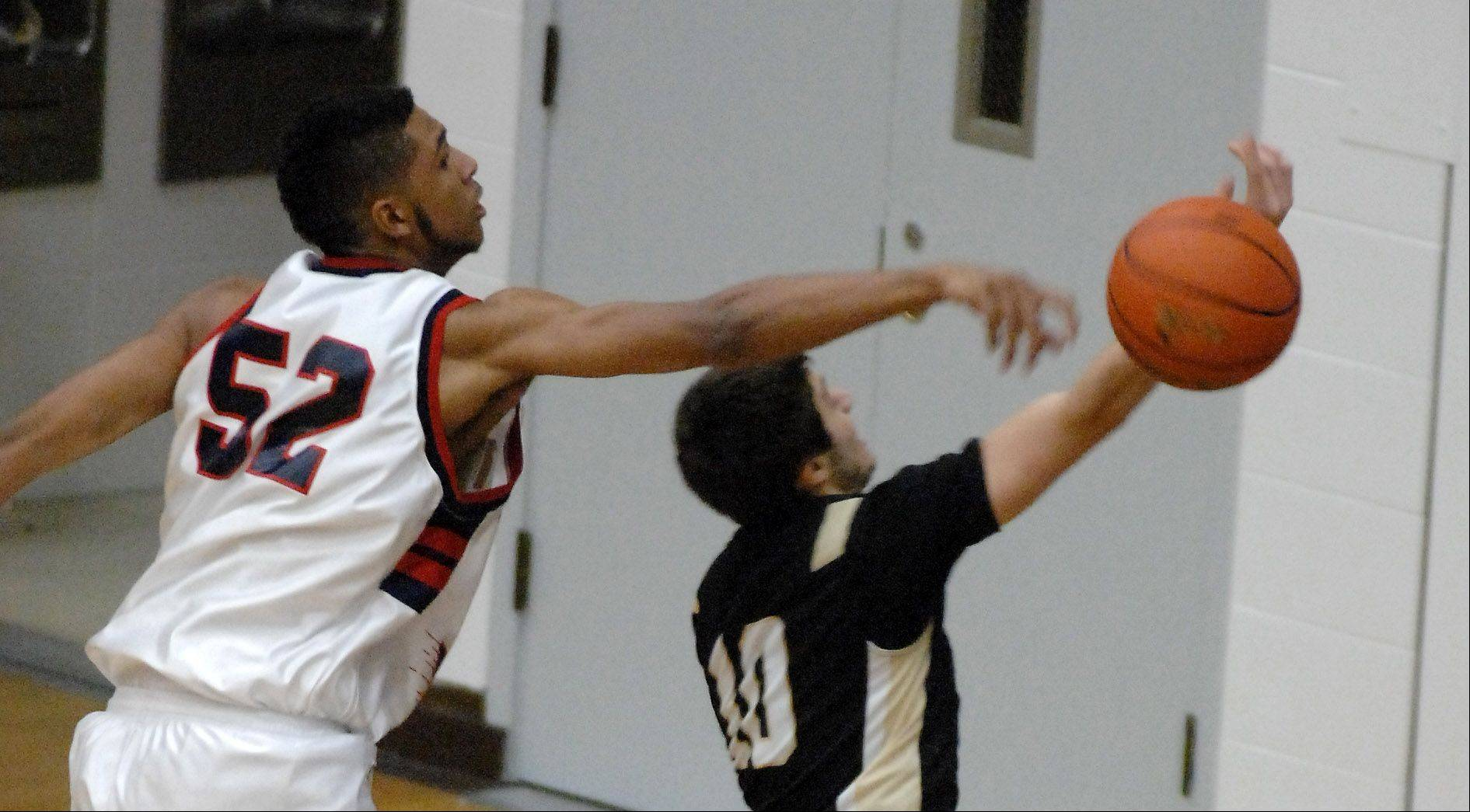 Images: Glenbard North vs. West Aurora, boys basketball
