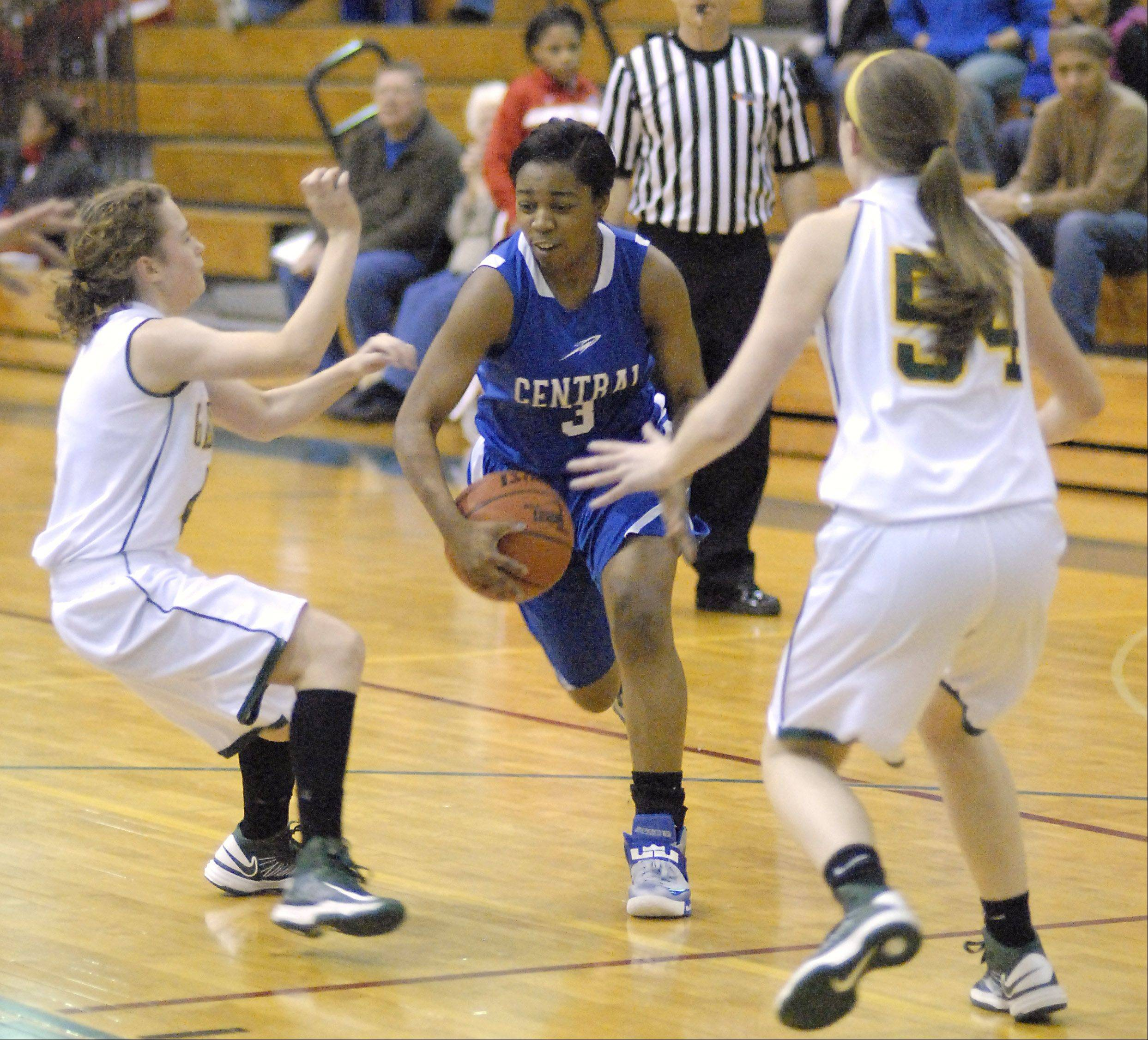 Images: Crystal Lake South vs. Burlington Central girls basketball