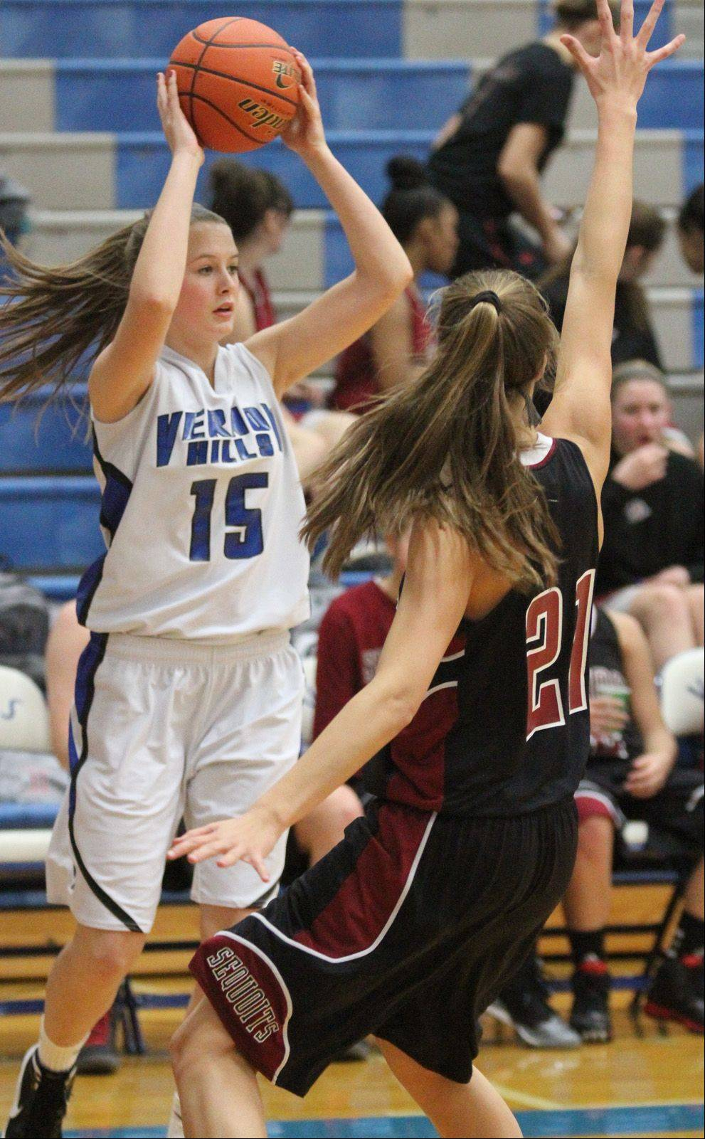 Images from the Antioch at Vernon Hills girls basketball game Saturday, Dec. 15 in Vernon Hills.
