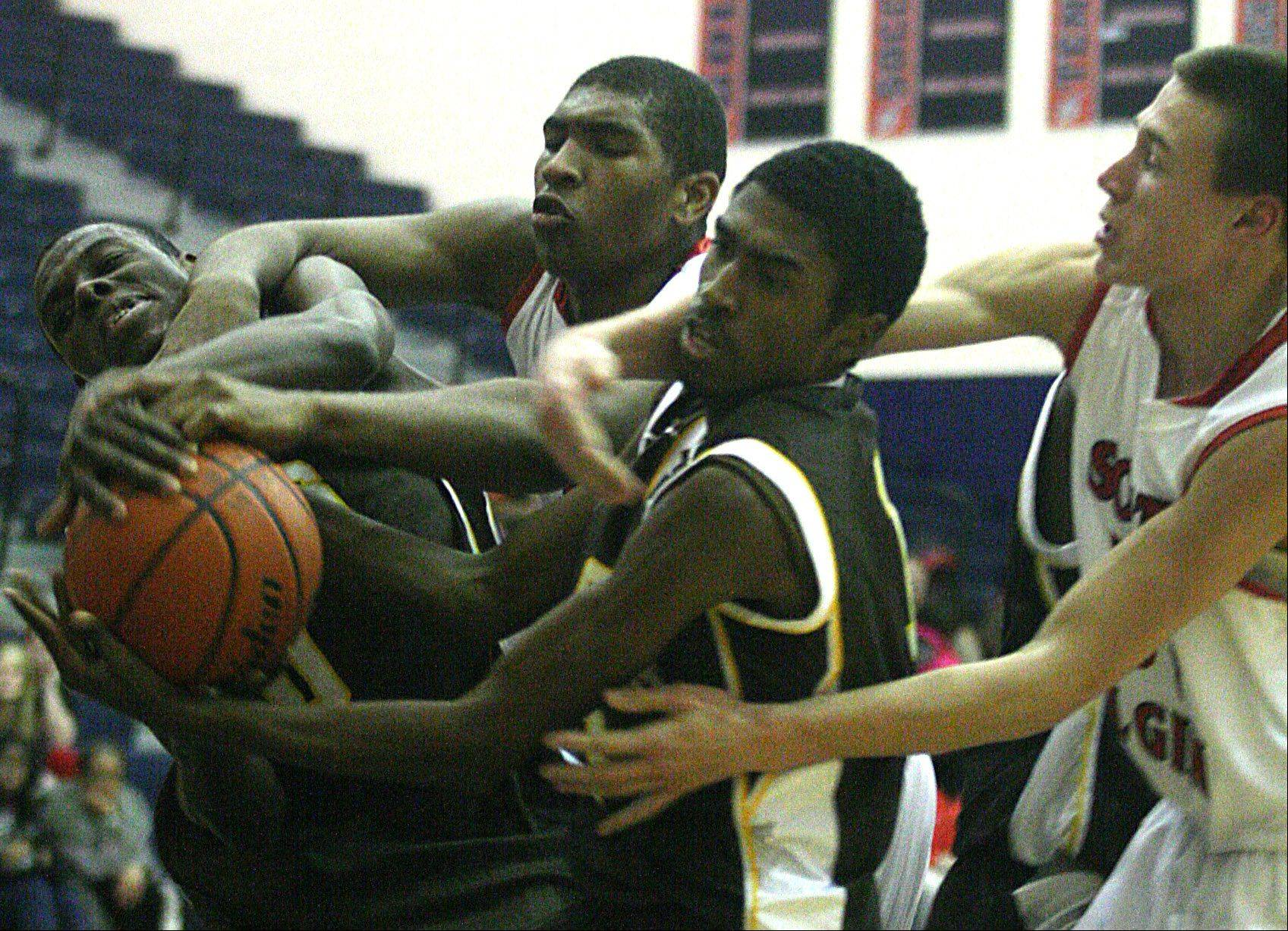 Images: Jacobs vs. South Elgin boys basketball