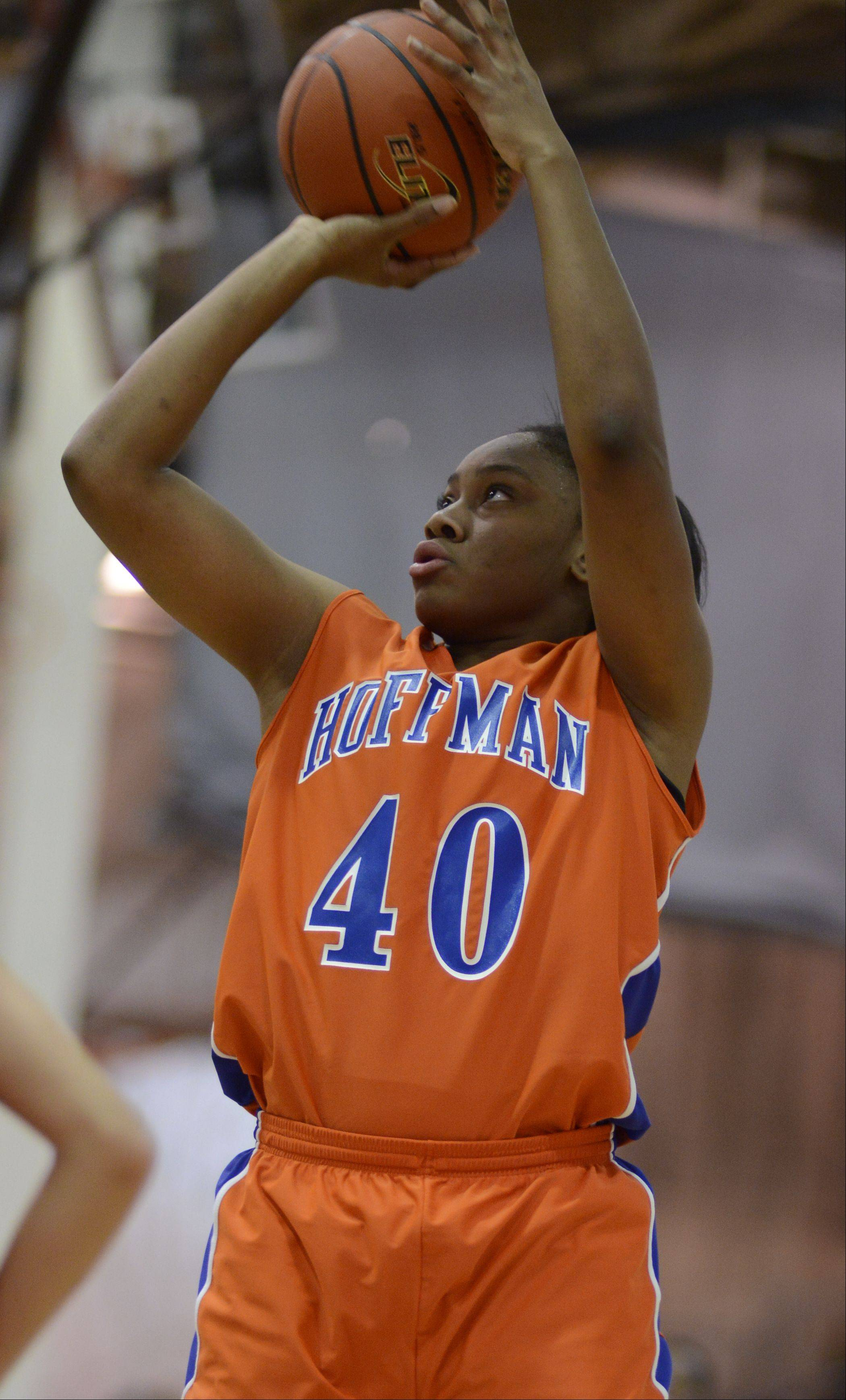 Images from the Hoffman Estates vs. Barrington girls basketball game on Wednesday, December 19th, in Barrington.