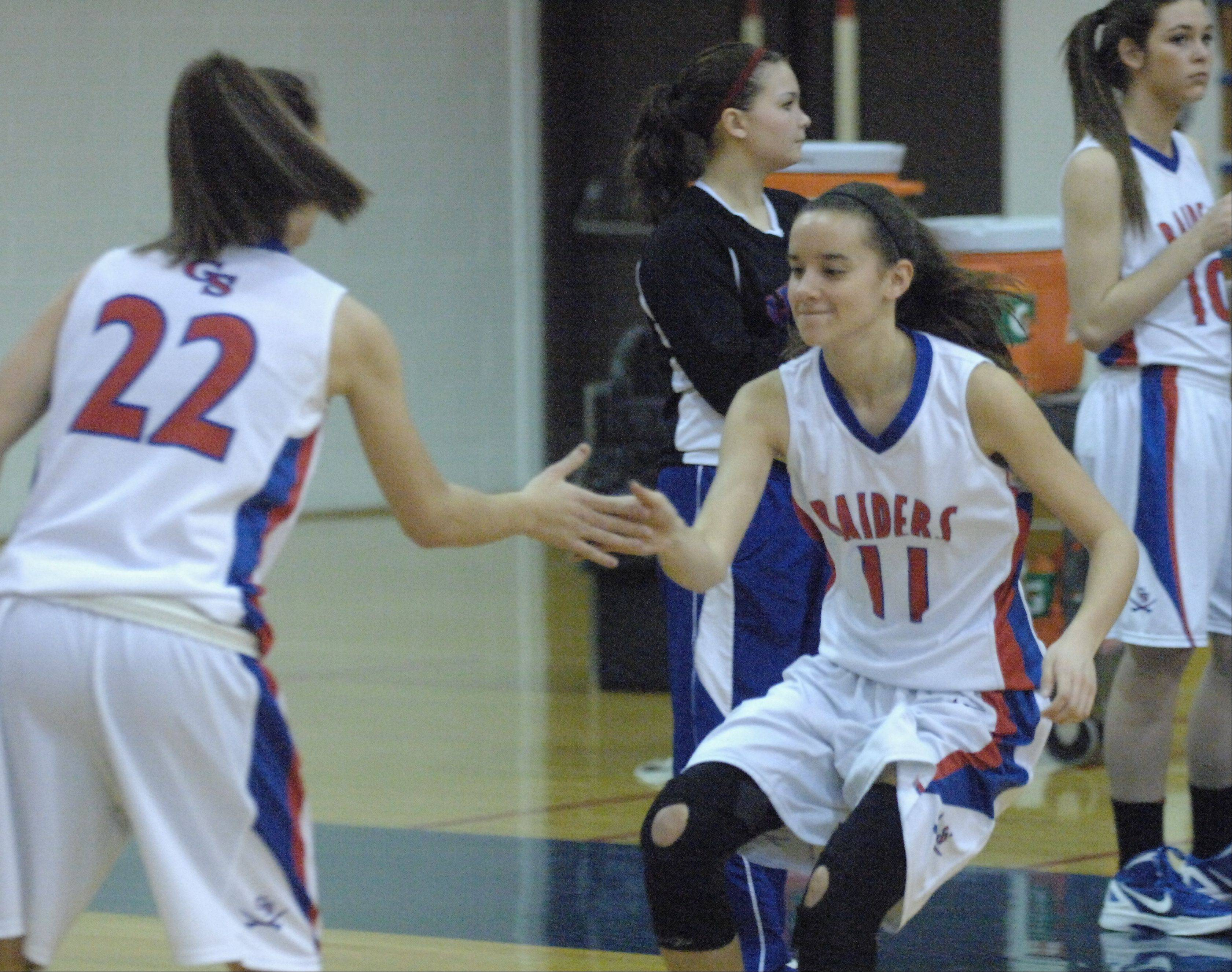 Images: Glenbard South vs. Downers Grove South, girls basketball