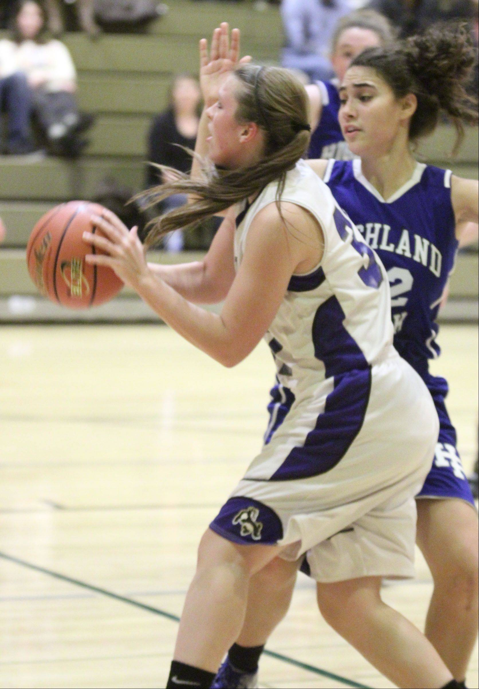 Images from the Highland Park at Wheeling girls basketball game Thursday, Dec. 20 in Wheeling.