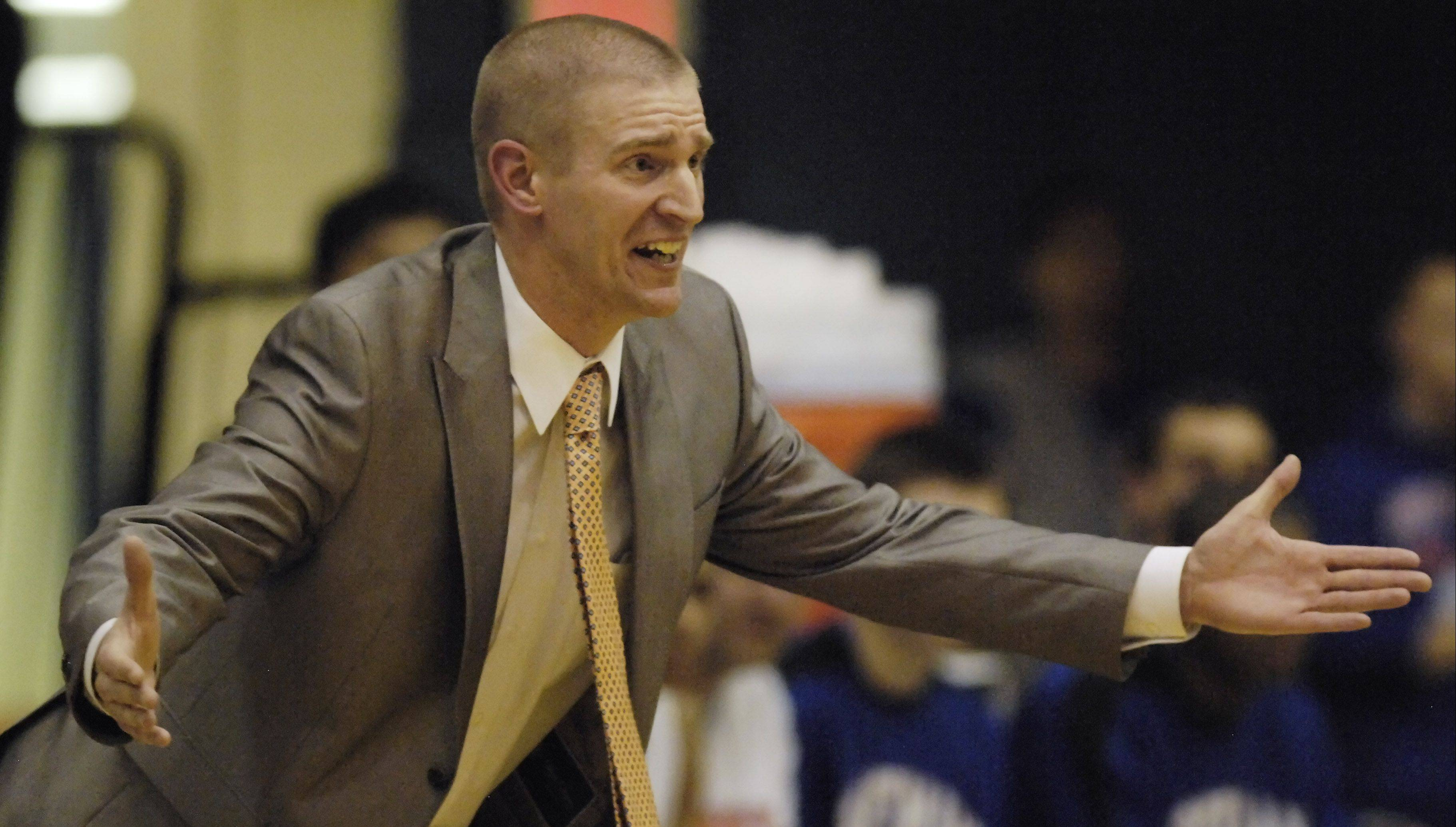 Hoffman Estates coach Luke Yanule takes his team to Elgin's tournament, with a first-round game Wednesday.