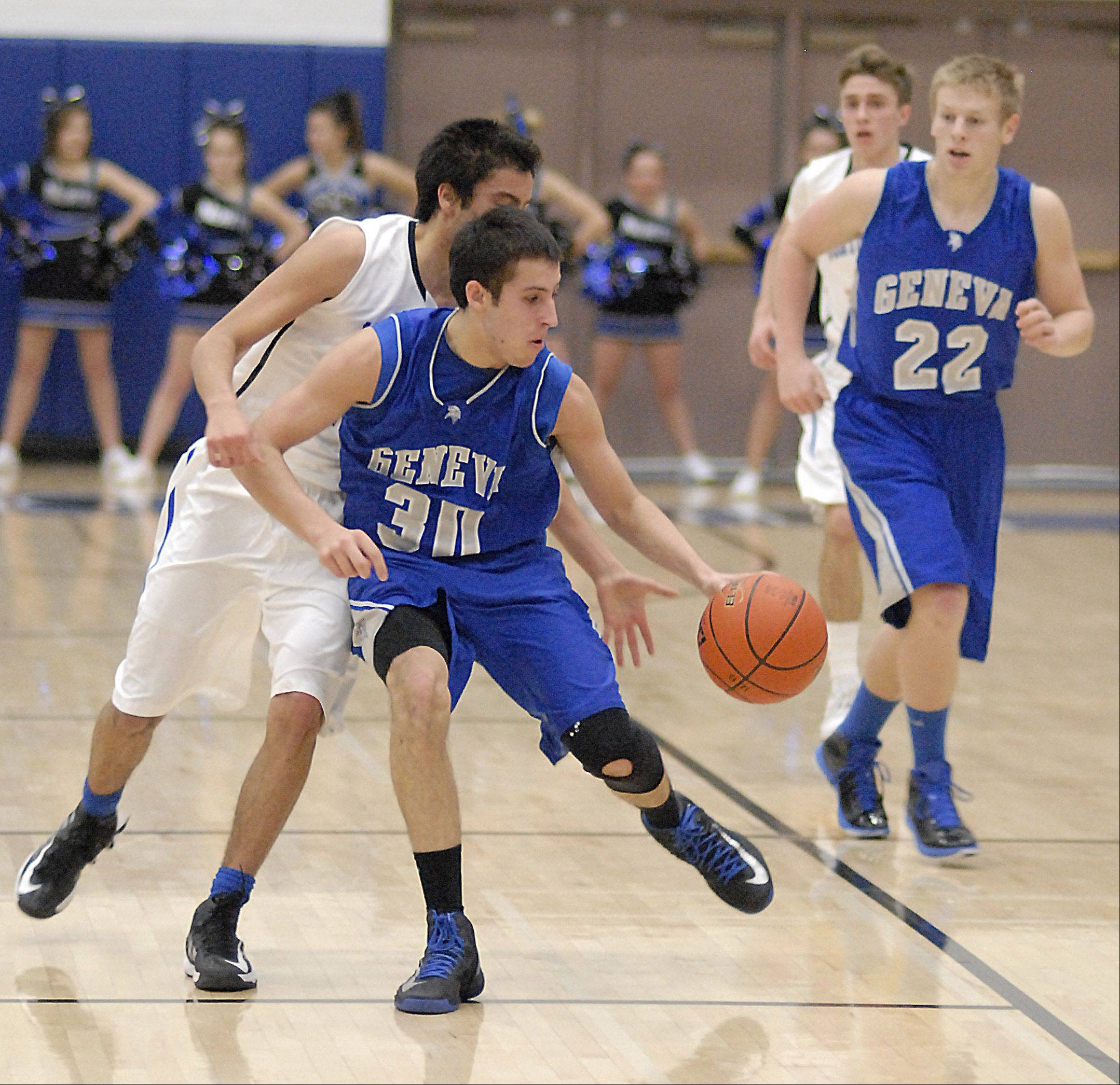Images: Geneva vs. St. Charles North, boys basketball
