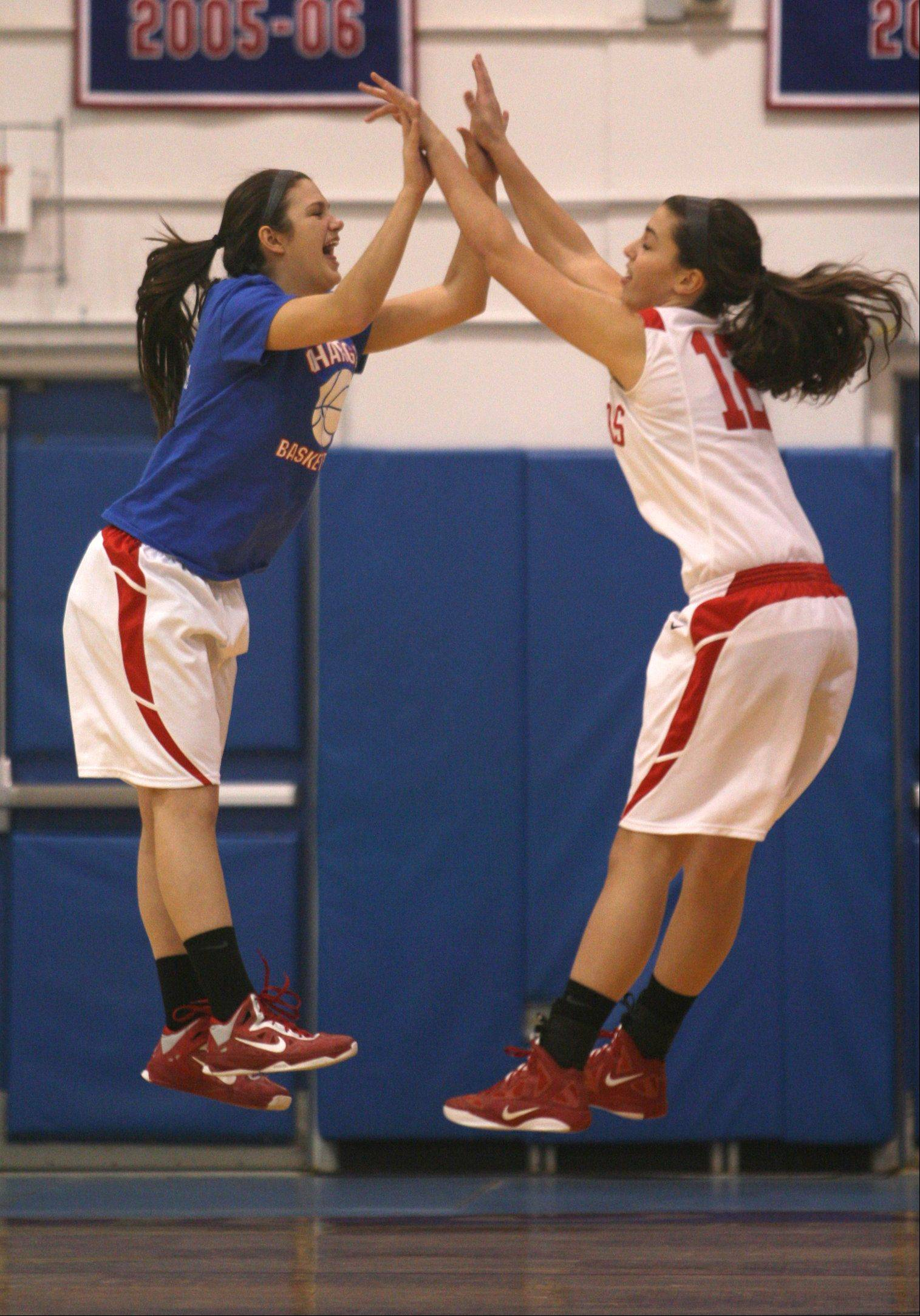 Images from the Jacobs vs. Dundee-Crown girls basketball game Friday, December 21, 2012.