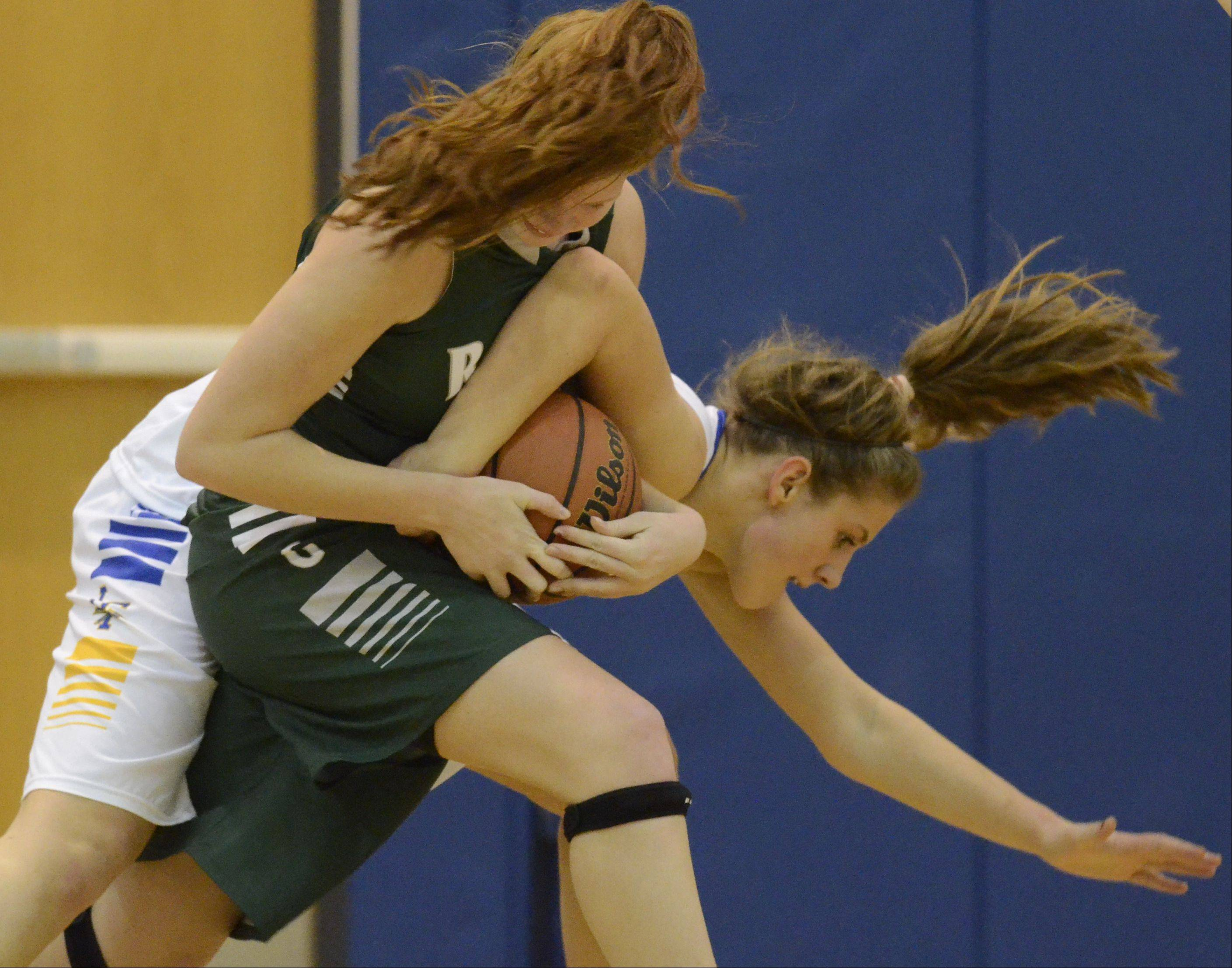 Images from the Lake Forest vs. Grayslake Central girls basketball game on Saturday, Dec. 22 in Gurnee.
