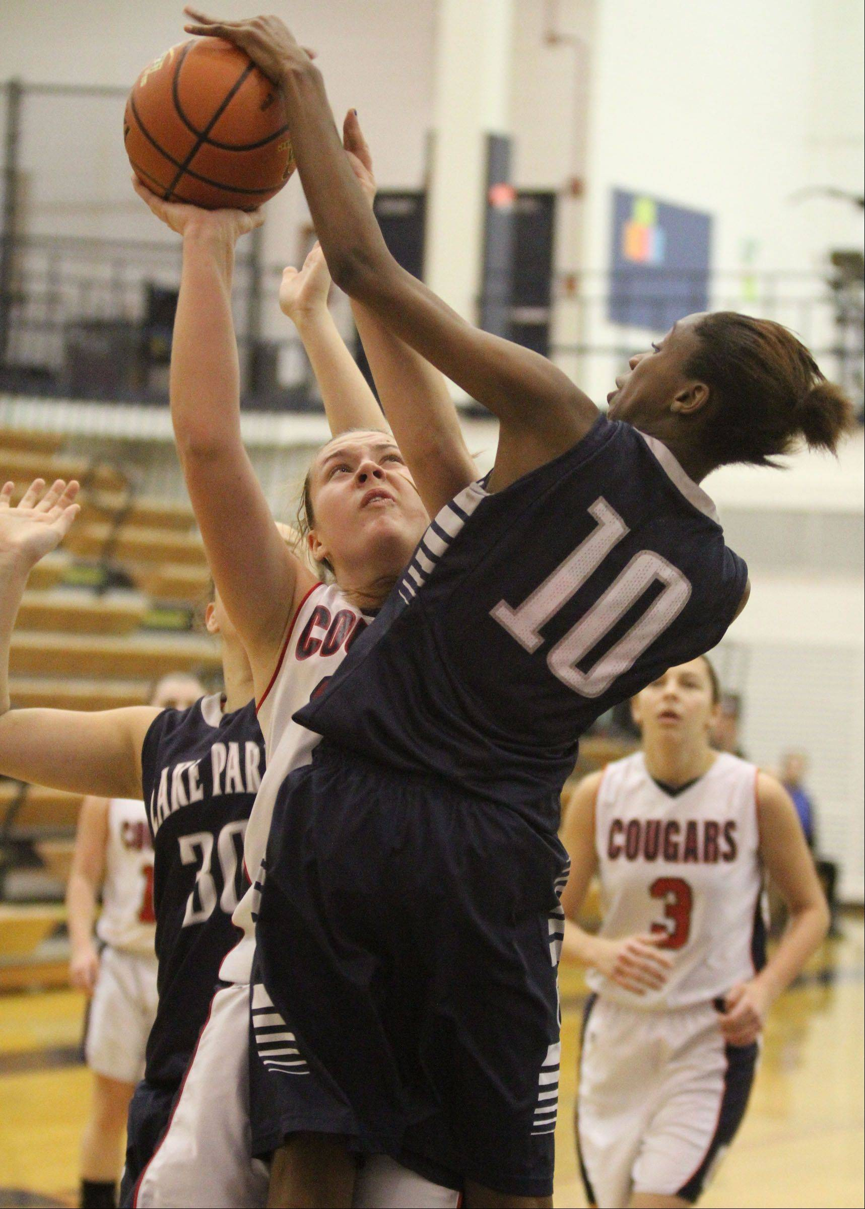 Images from the Lake Park vs. Conant girls basketball game on Saturday, Dec. 22 in Hoffman Estates.