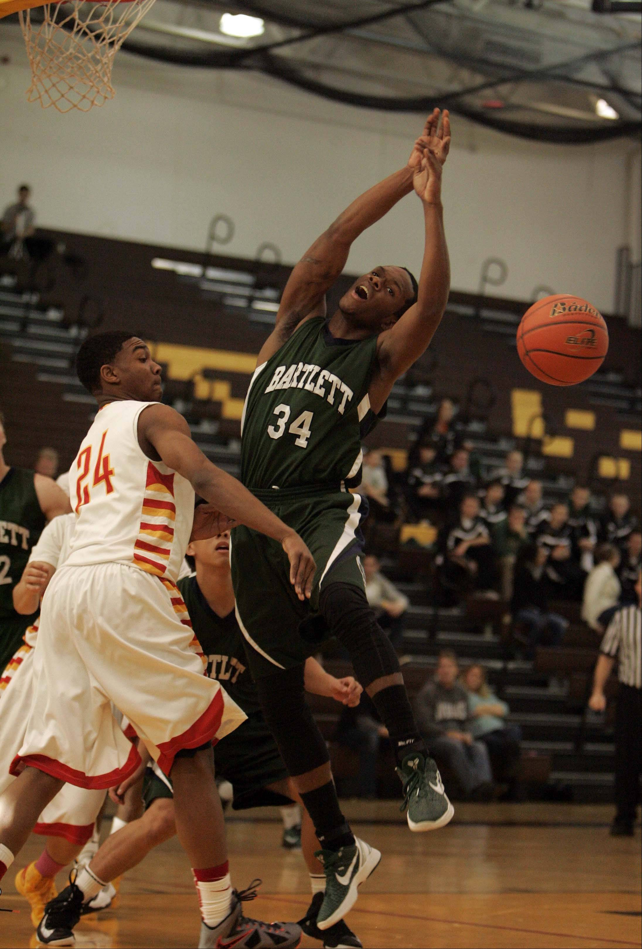 Images from the Bartlett vs. Rockford Jefferson boys basketball game Saturday, December 22, 2012.