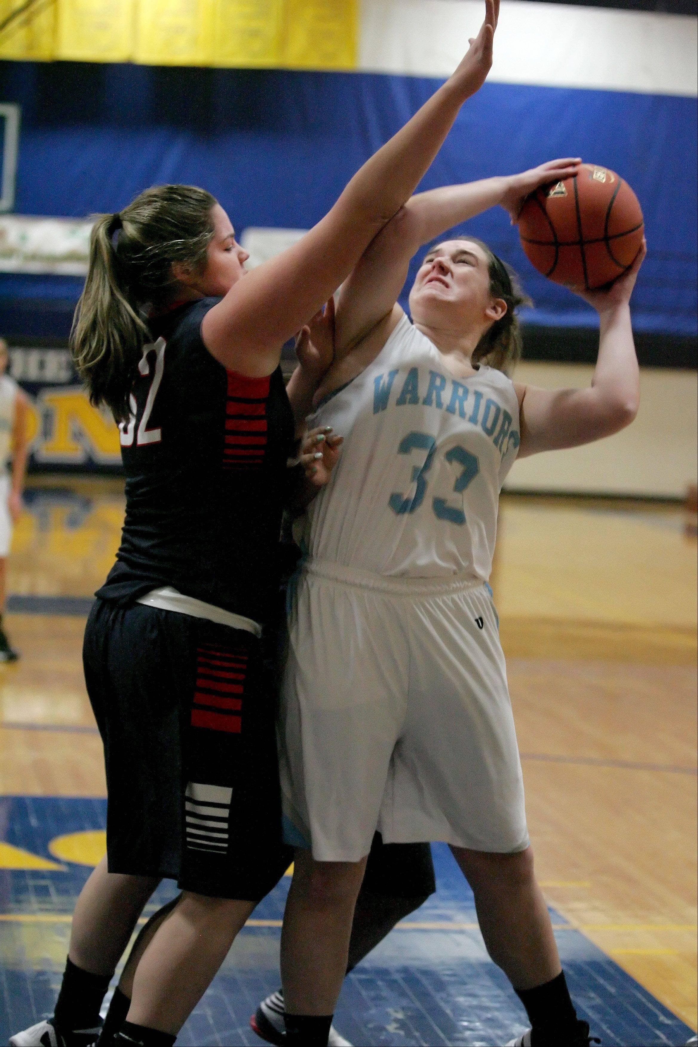 Images: Willowbrook vs. West Aurora girls basketball