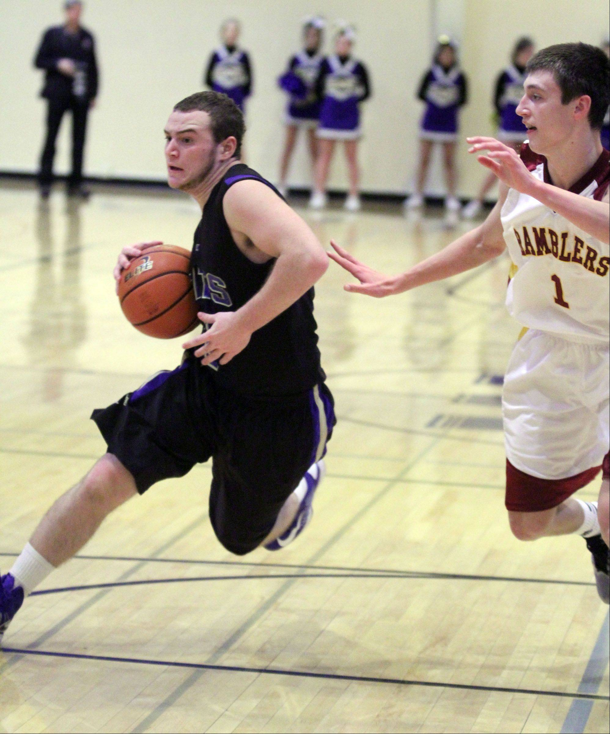 Images from the Wheeling vs. Loyola boys basketball game on Wednesday, December 26th, in Wheeling.