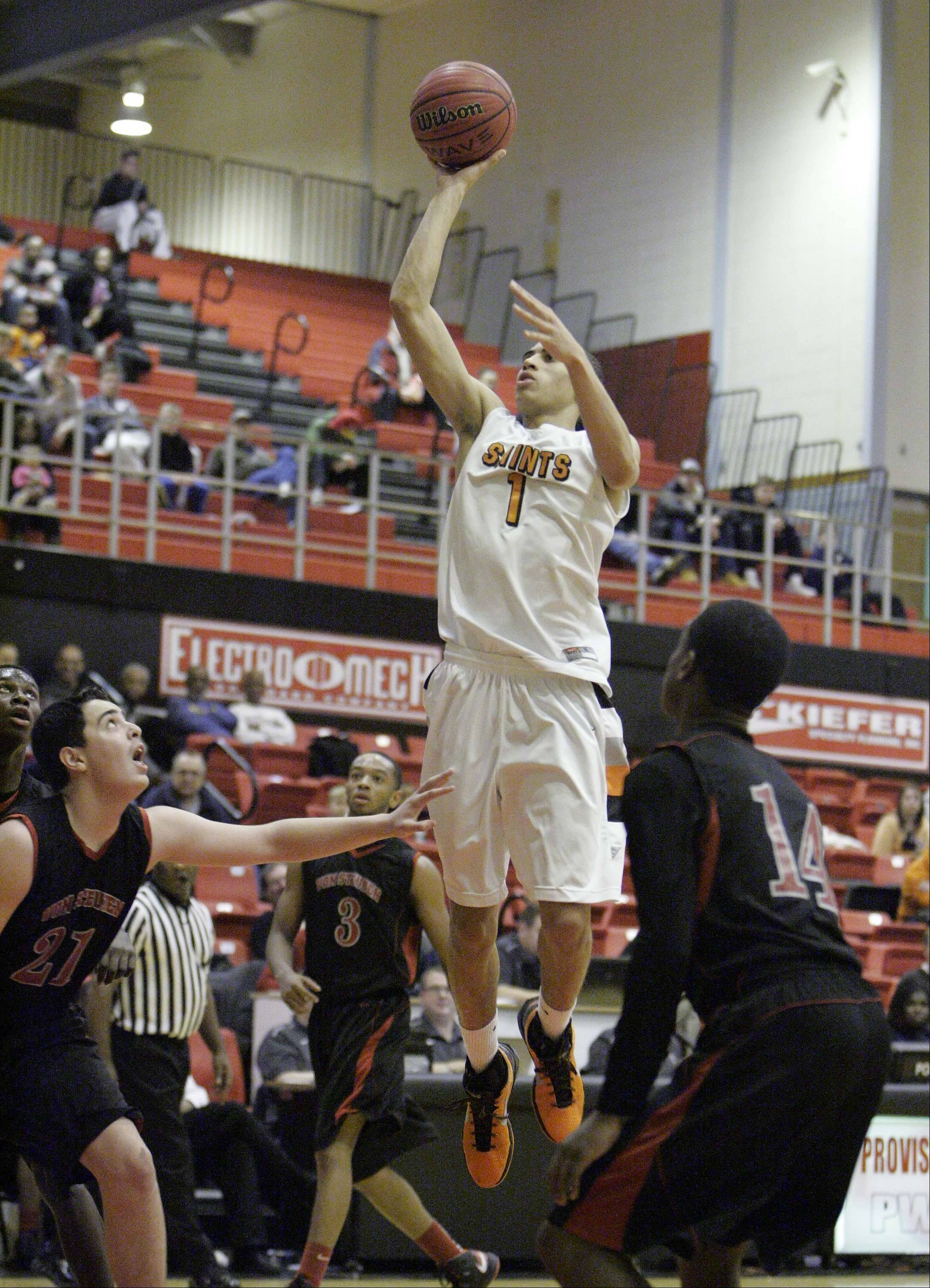 Images from St. Charles East vs Von Steuben at the Proviso West Holiday Tournament in Hillside, Wednesday December 26, 2012.