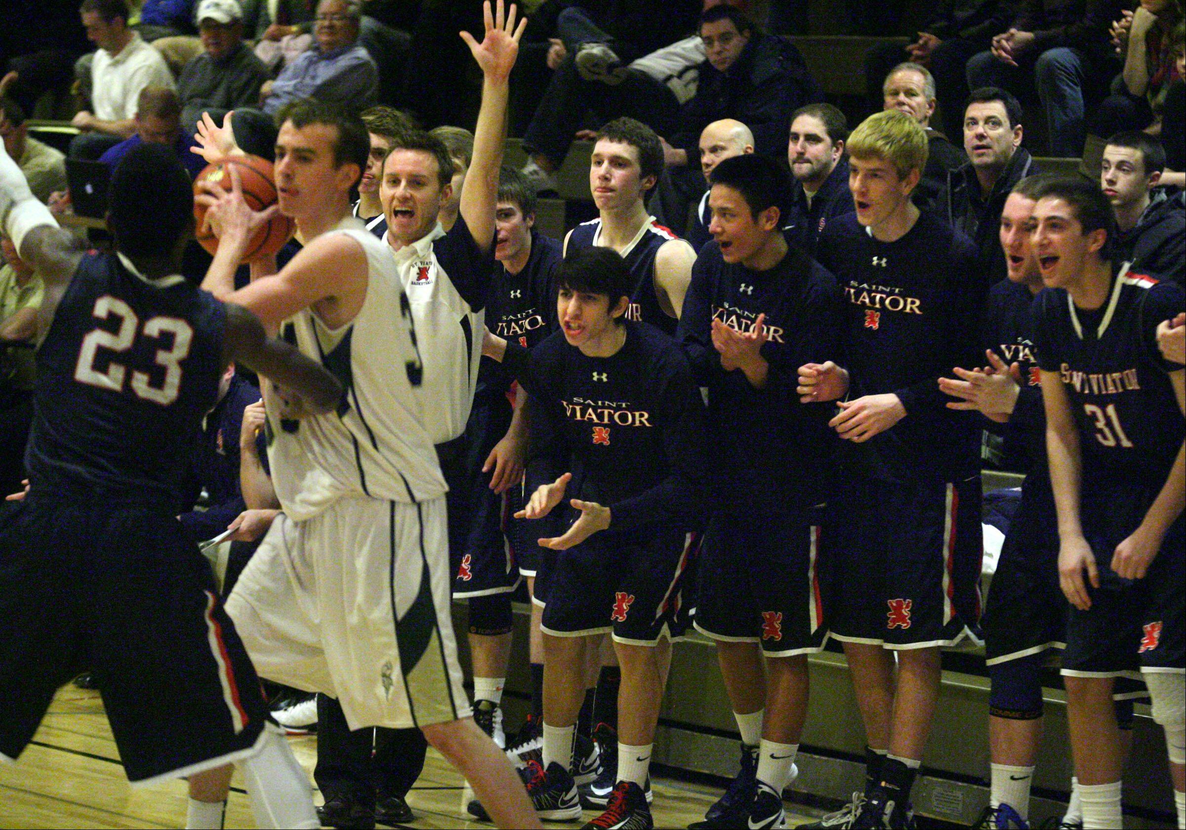Images: Fremd vs. St. Viator, boys basketball