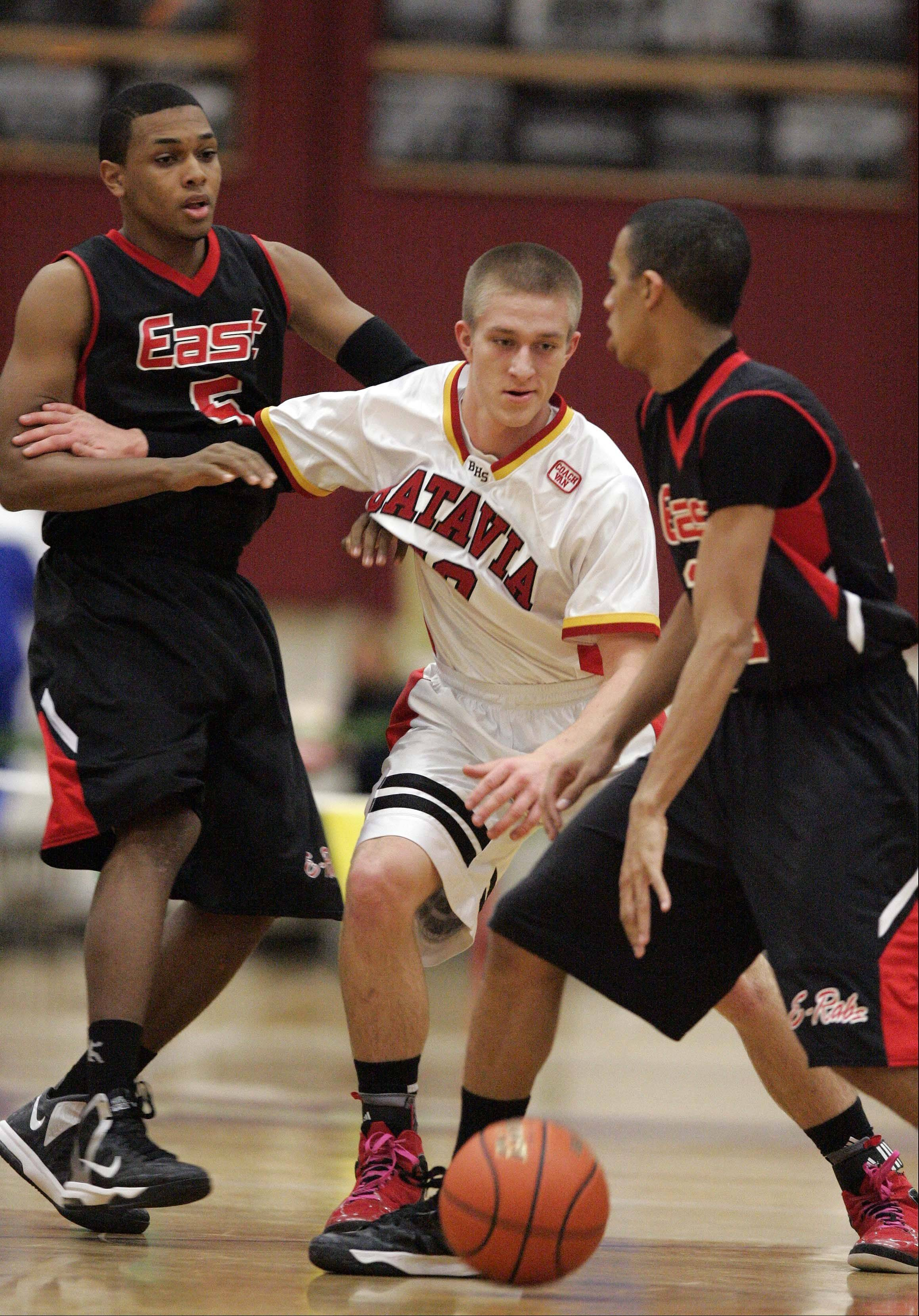 Images: Batavia vs Rockford East boys basketball