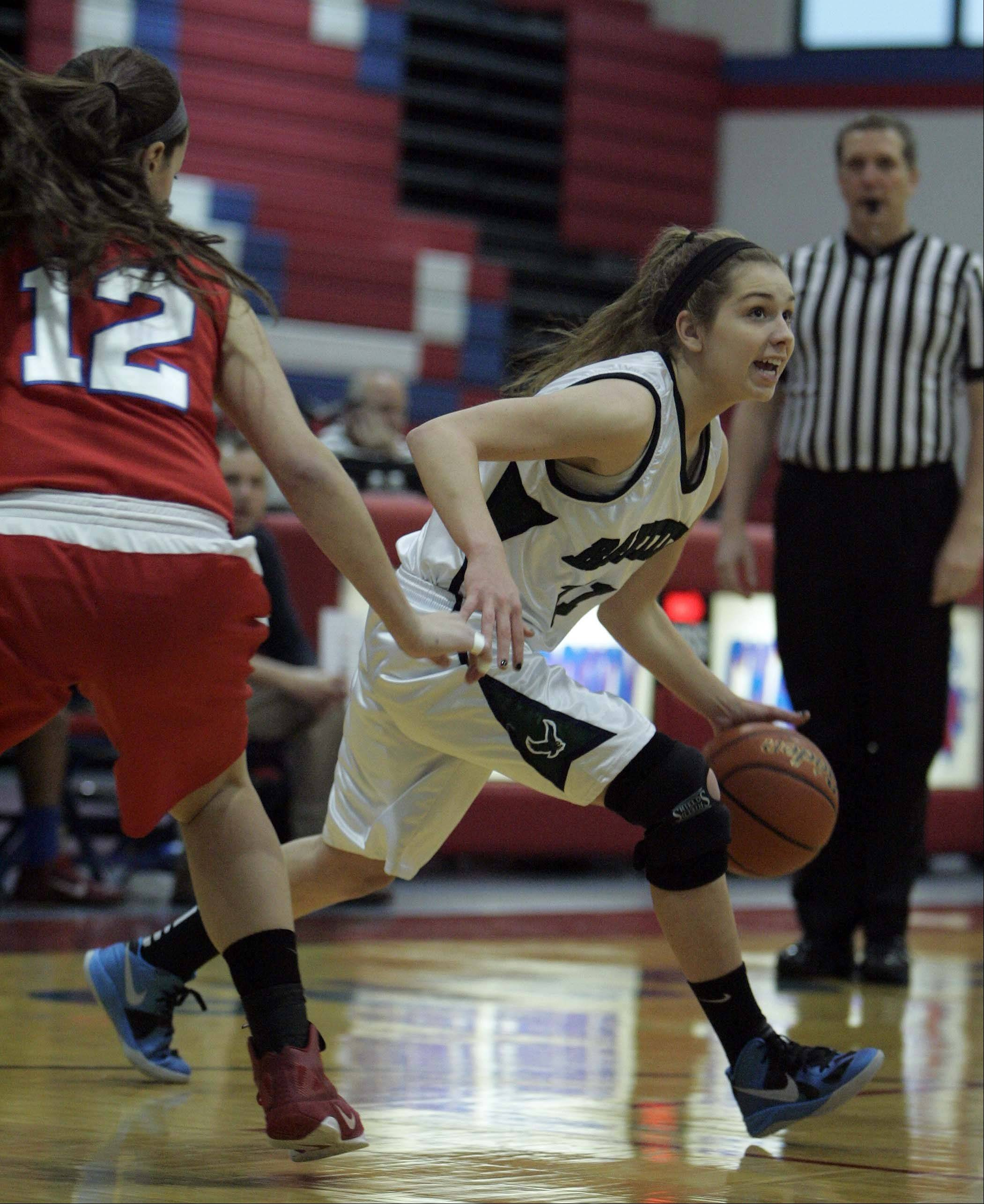 Images: Dundee-Crown vs Bartlett girls basketball