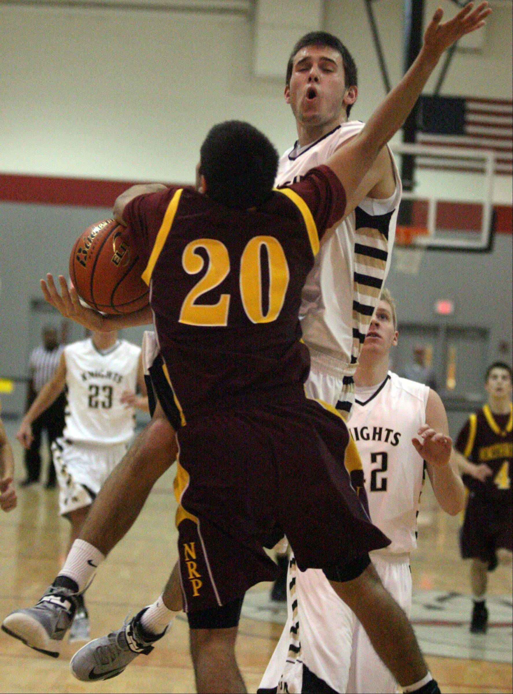 Images from the Northridge Prep vs. Grayslake North boys basketball game on Friday, Dec. 28 in Fox Lake.
