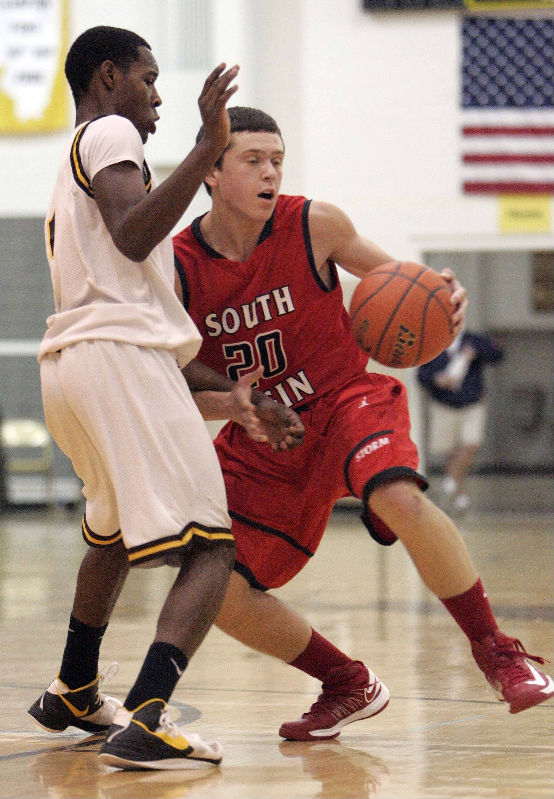 Images from the South Elgin vs. Jacobs boys basketball game Friday, December 28, 2012 in Algonquin.