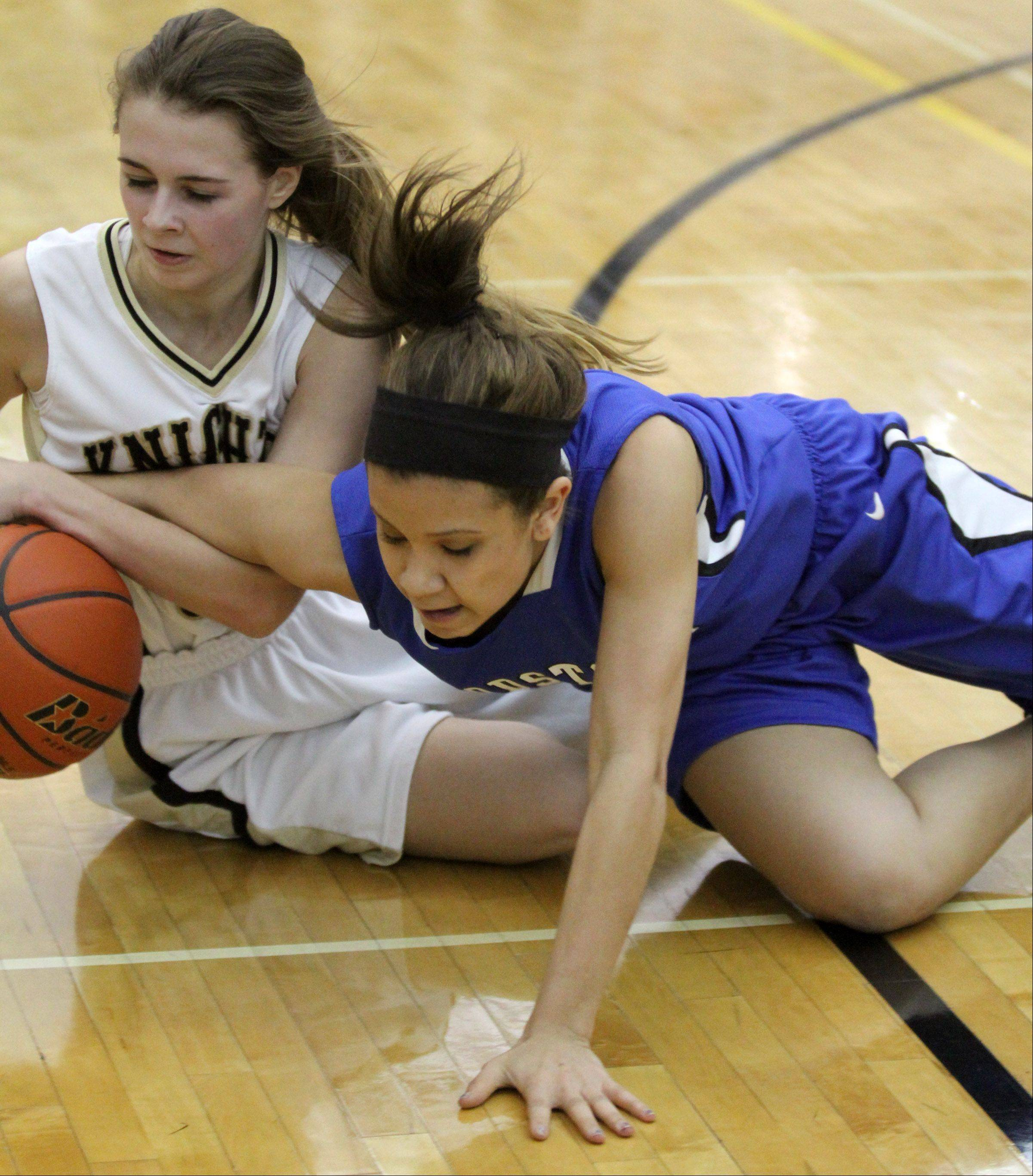 Images: Woodstock vs. Grayslake North, girls basketball