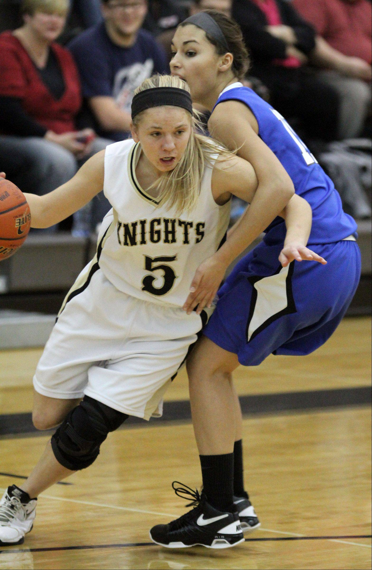 Images from the Woodstock vs. Grayslake North girls basketball game on Friday, Jan. 4 in Grayslake.