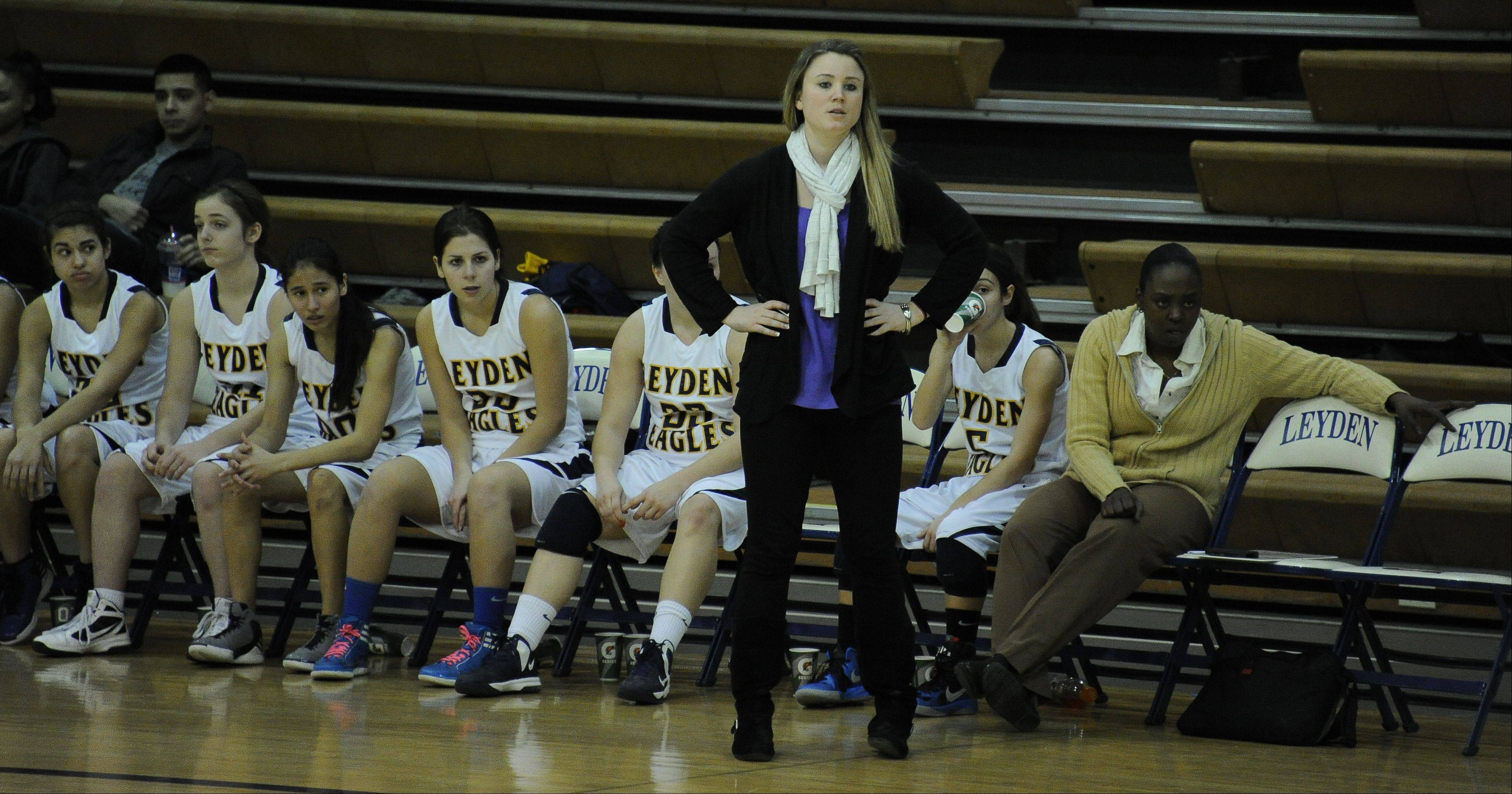 Images from West Leyden vs. Morton girls basketball game on January 4th in Northlake.