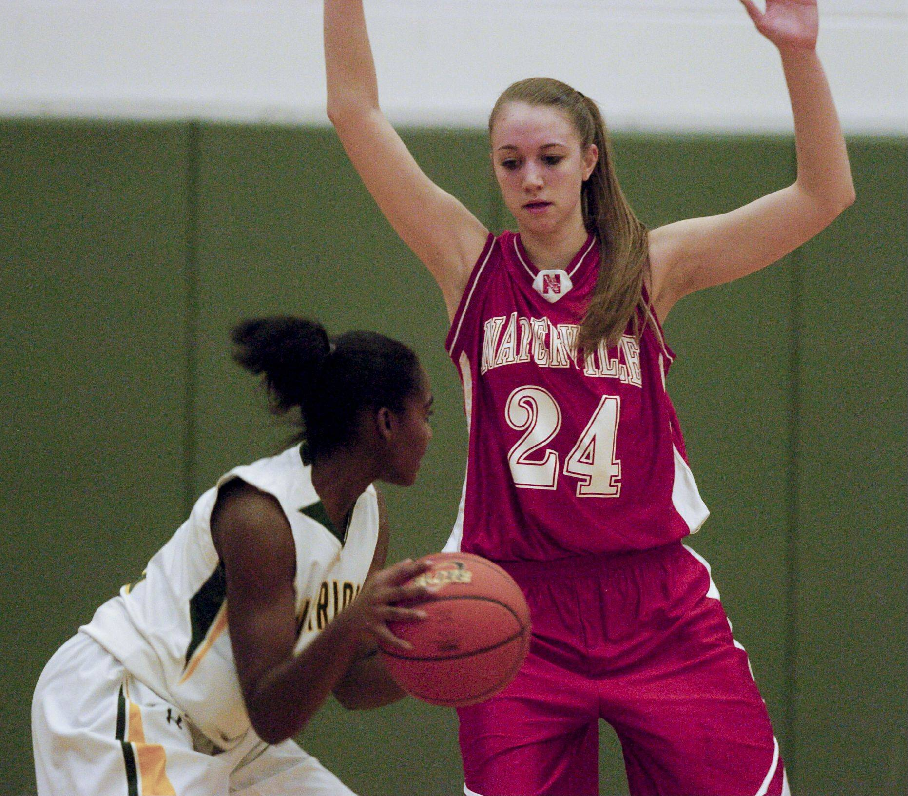 Waubonsie Valley hosted Naperville Central Monday night for girls basketball.