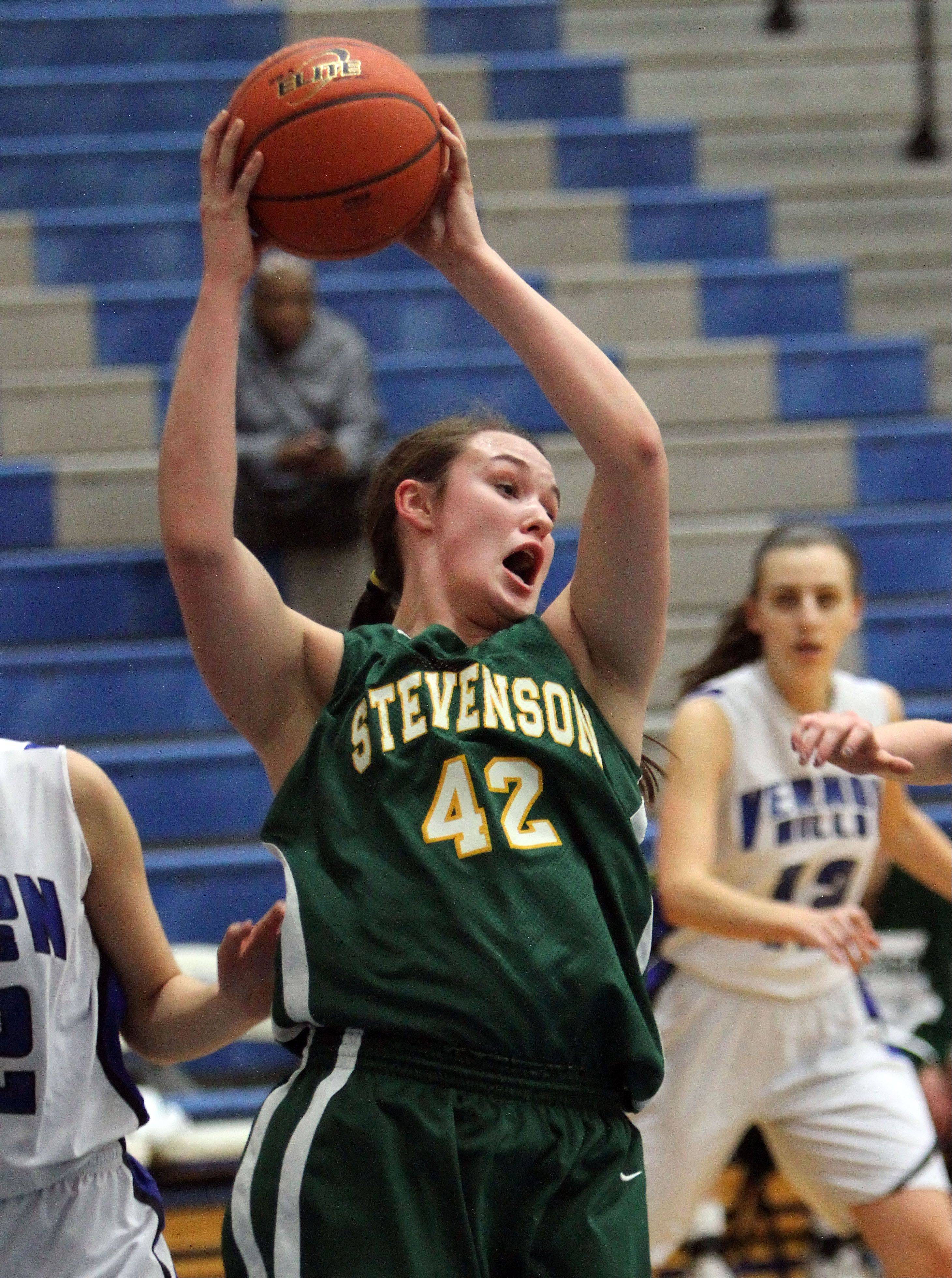 Fired-up Stevenson tops Vernon Hills