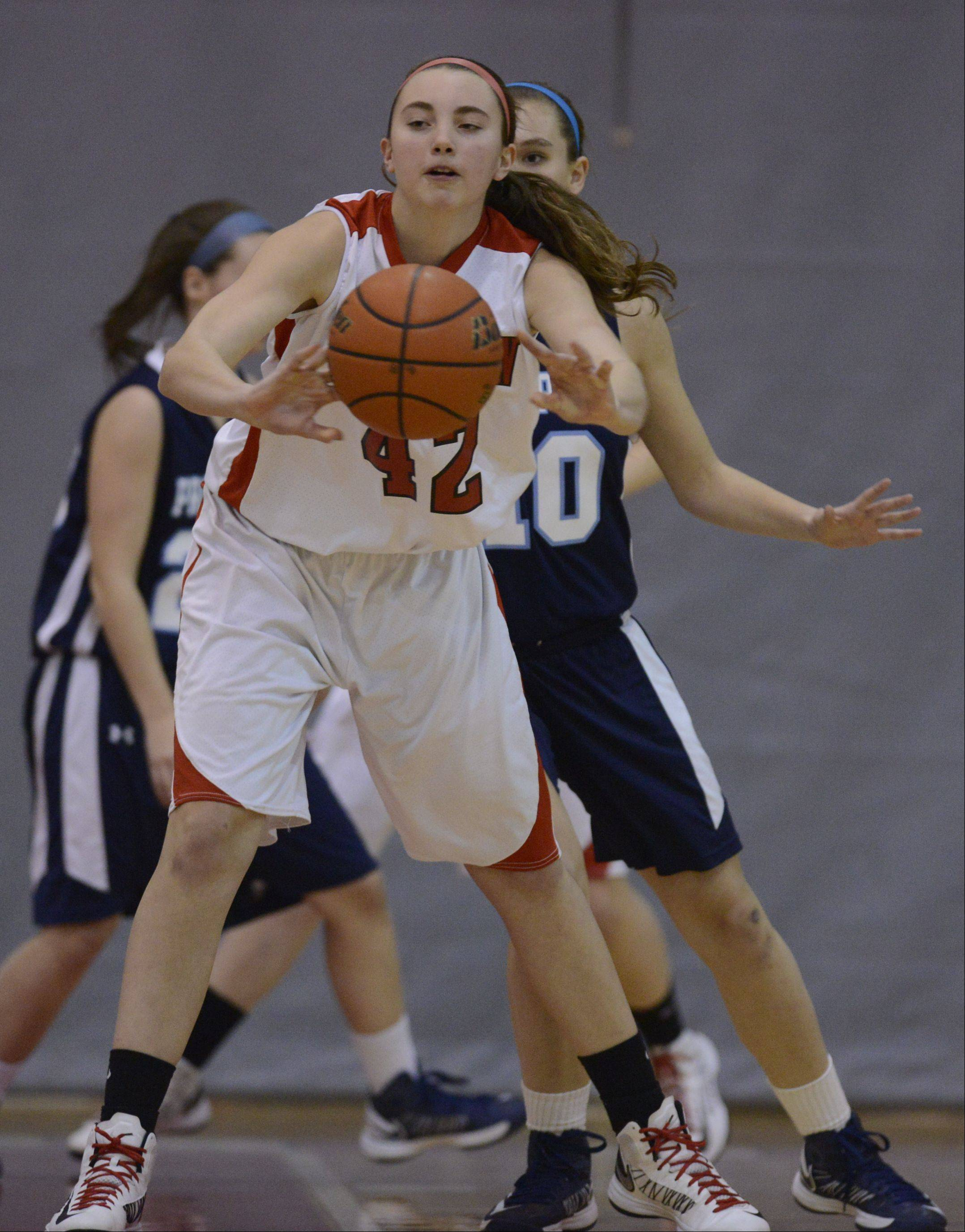Images from the Barrington vs. Prospect girls basketball game on Tuesday, January 8th, in Barrington.