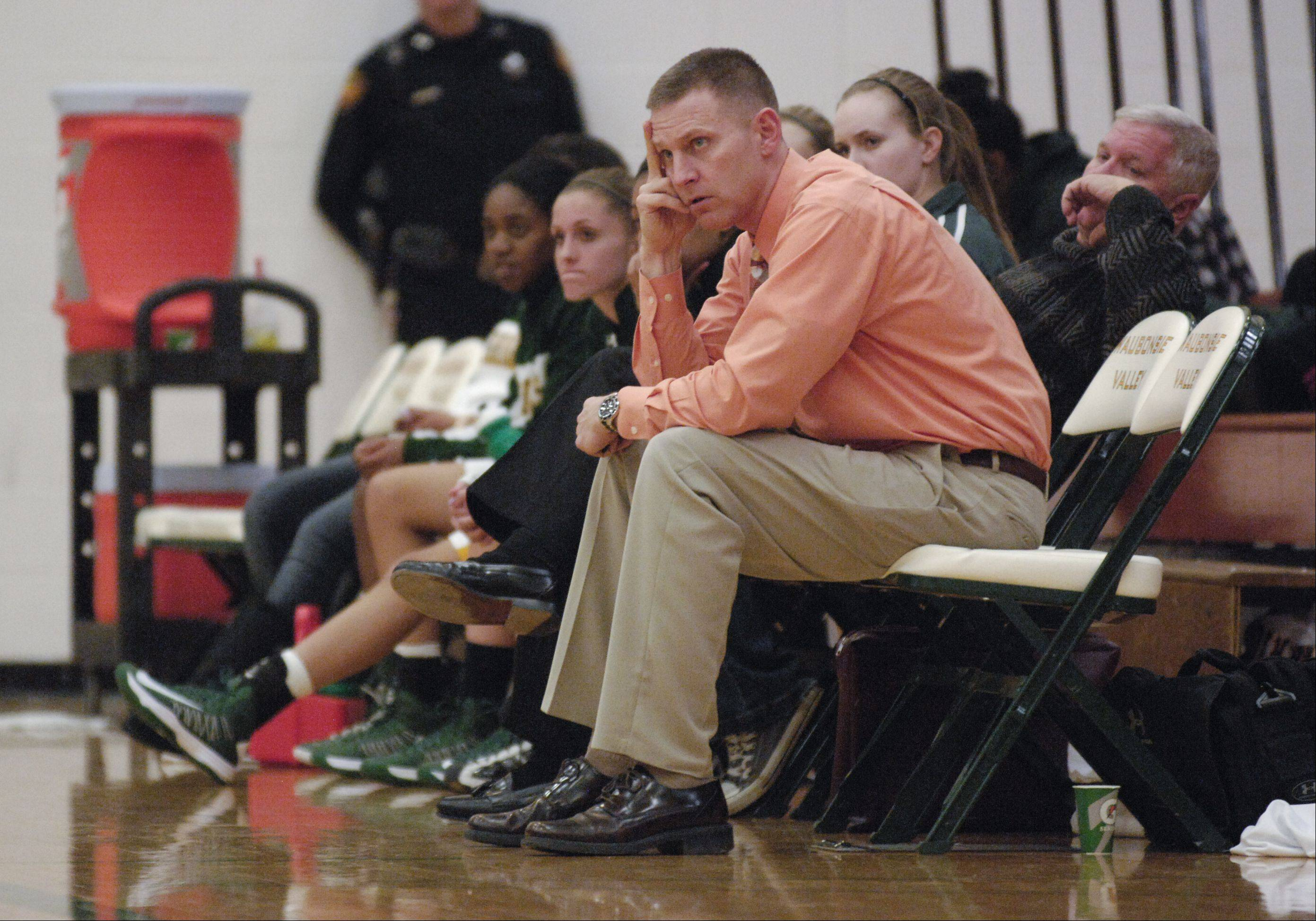 David Owles, Waubonsie Valley varsity girls basketball coach