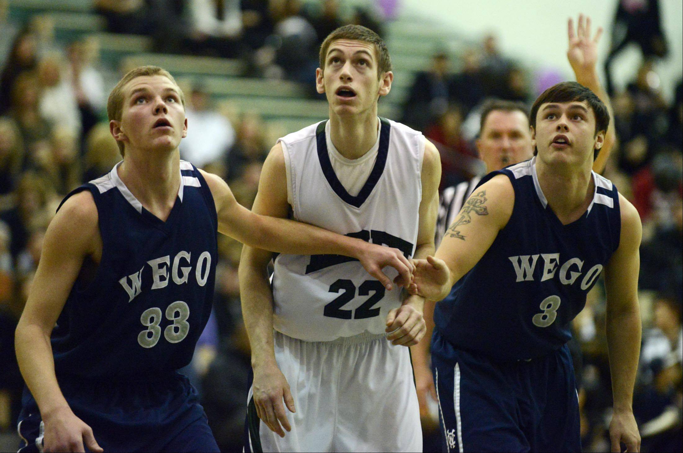 Images from the West Chicago vs. Bartlett boys basketball game Wednesday, January 9, 2013.