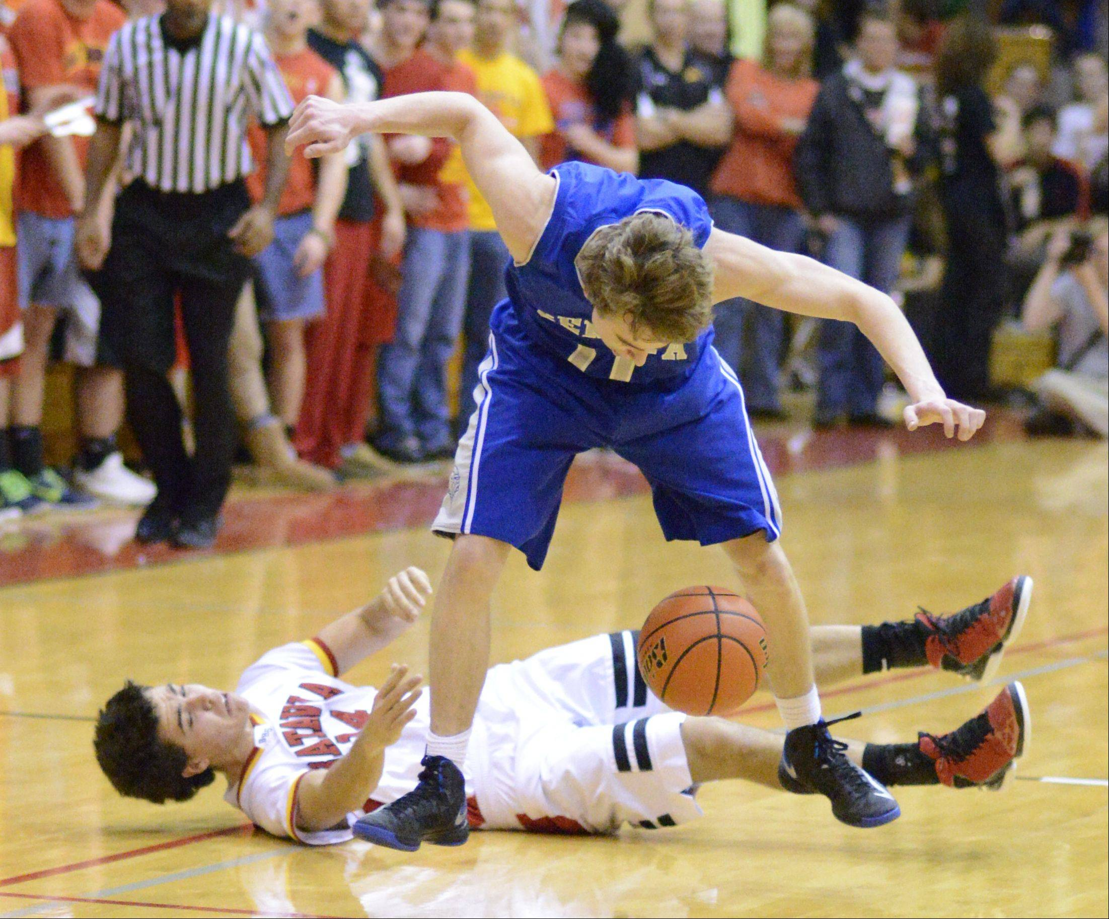 Images from the Geneva vs. Batavia boys basketball game Friday, January 11, 2013.