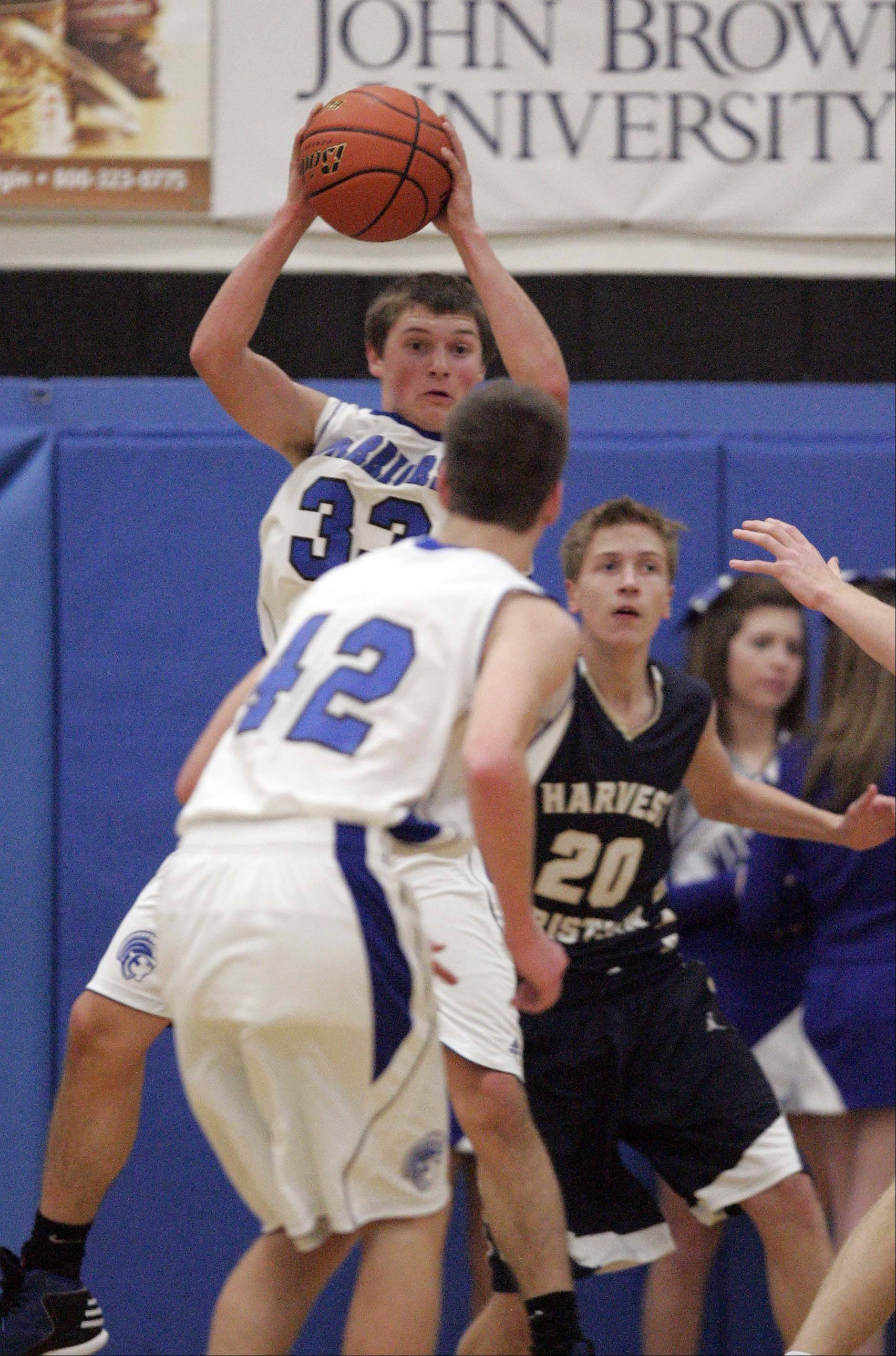 Images from the Harvest Christian vs. Westminster Christian boys basketball game Friday, January 11, 2013.