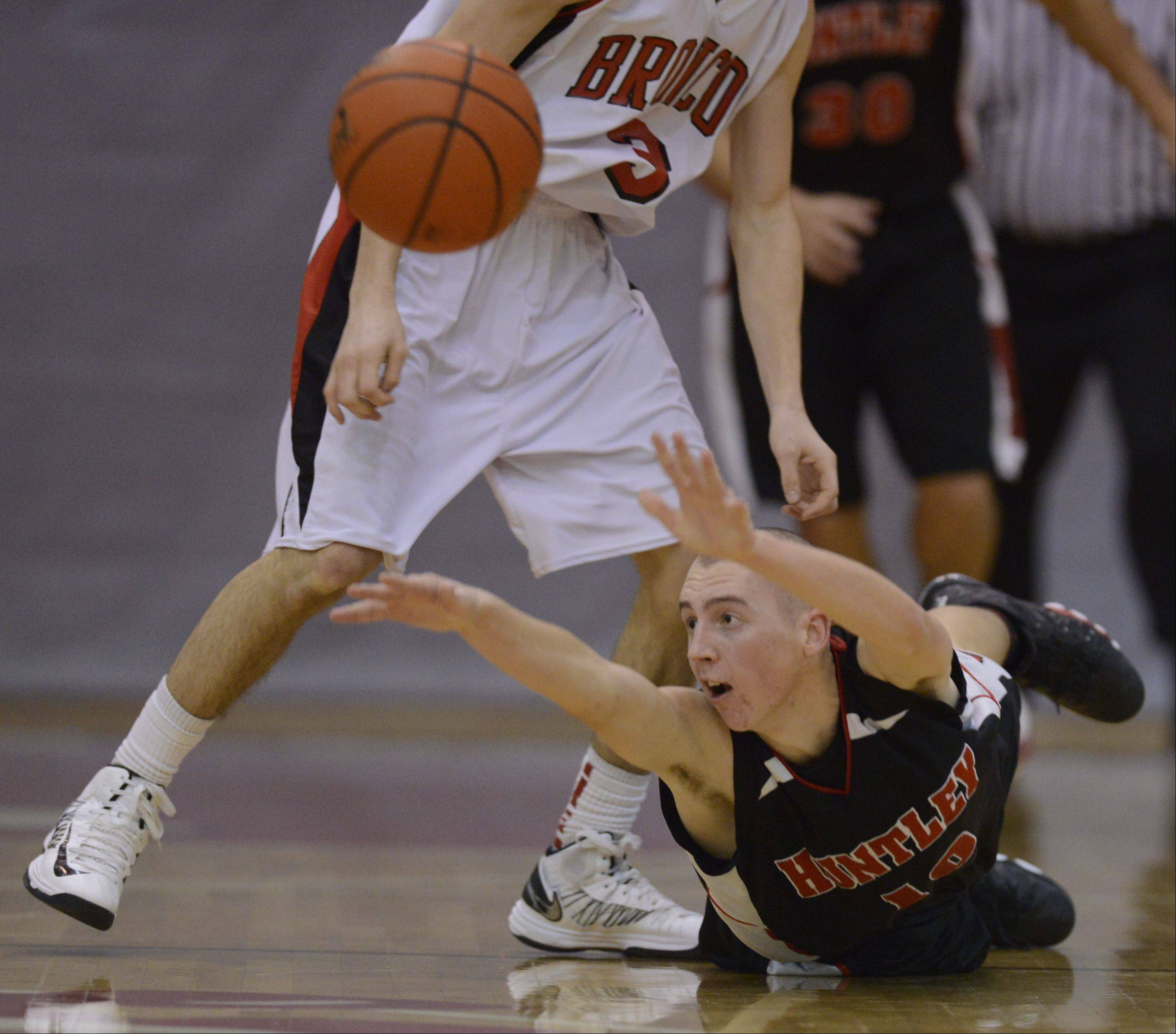 Images from the Barrington vs. Huntley boys basketball game on Tuesday, January 15th, in Barrington