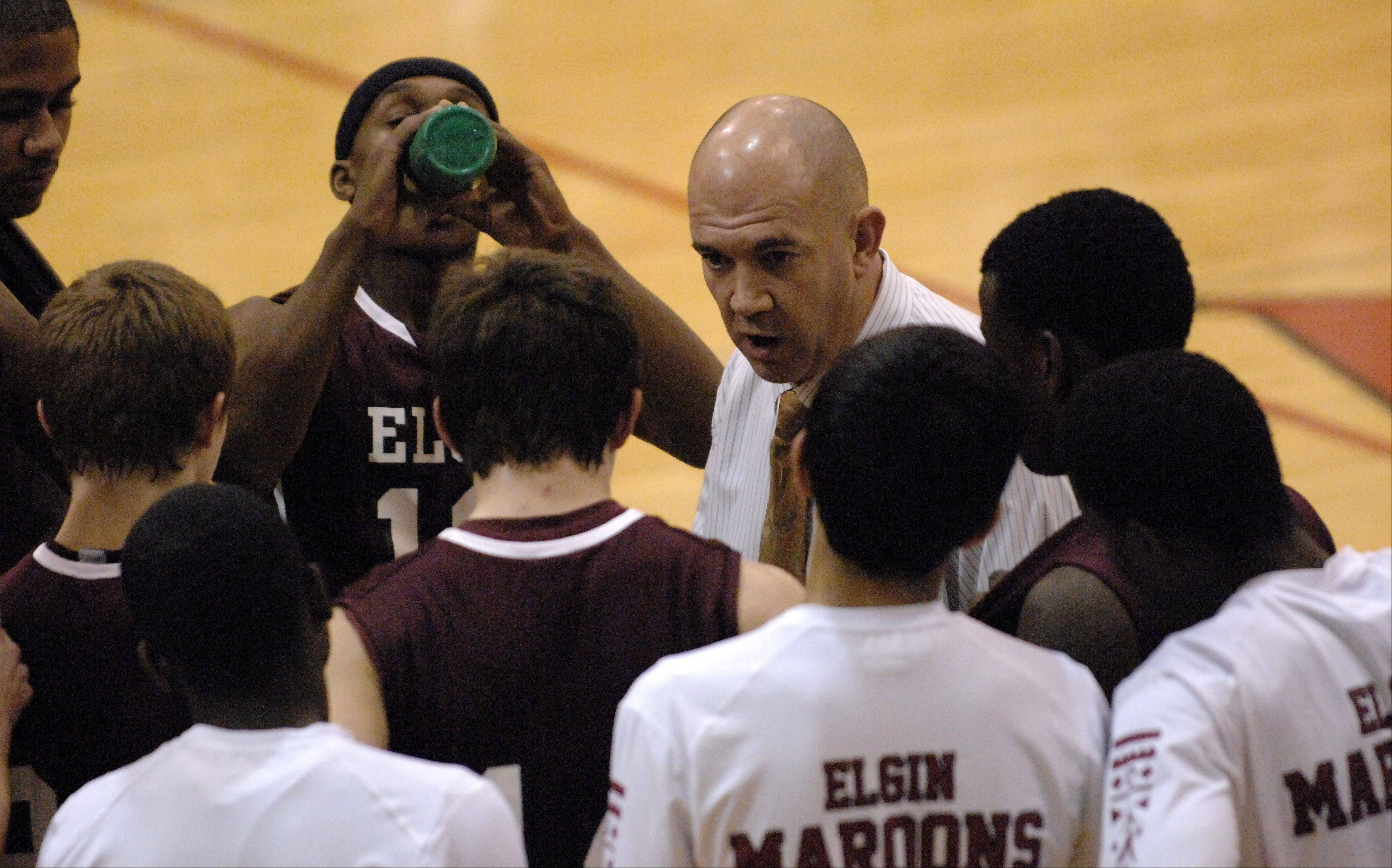 Images from the Elgin vs. Batavia boys basketball game Tuesday, January 15, 2013.